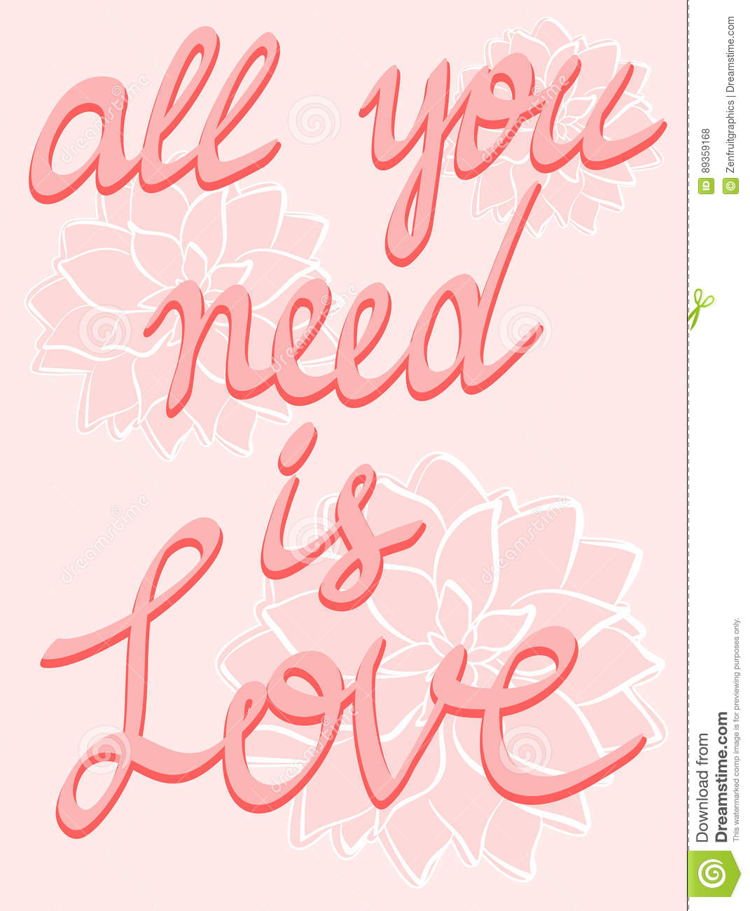 Love poster lettering poster hand written calligraphy on pink love poster lettering poster hand written calligraphy on pink flowers background inspirational quotes poster mightylinksfo