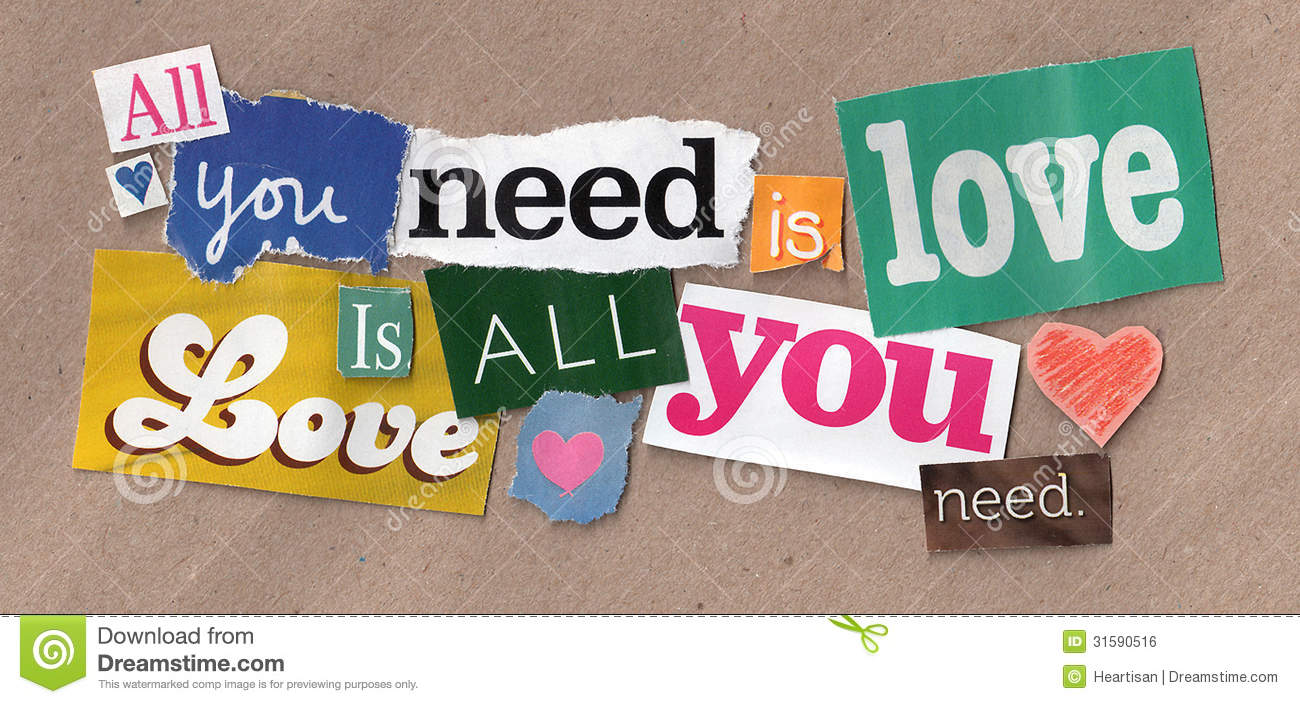 Love quote cuttings stock photo image of paper crafts 31590516 royalty free stock photo publicscrutiny Choice Image