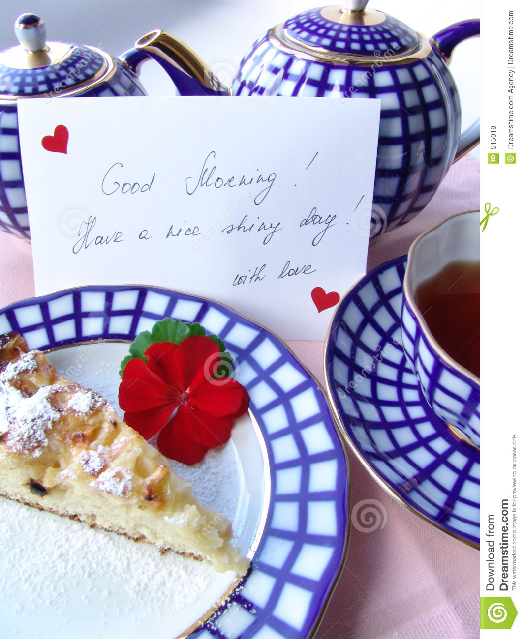 With love served breakfast
