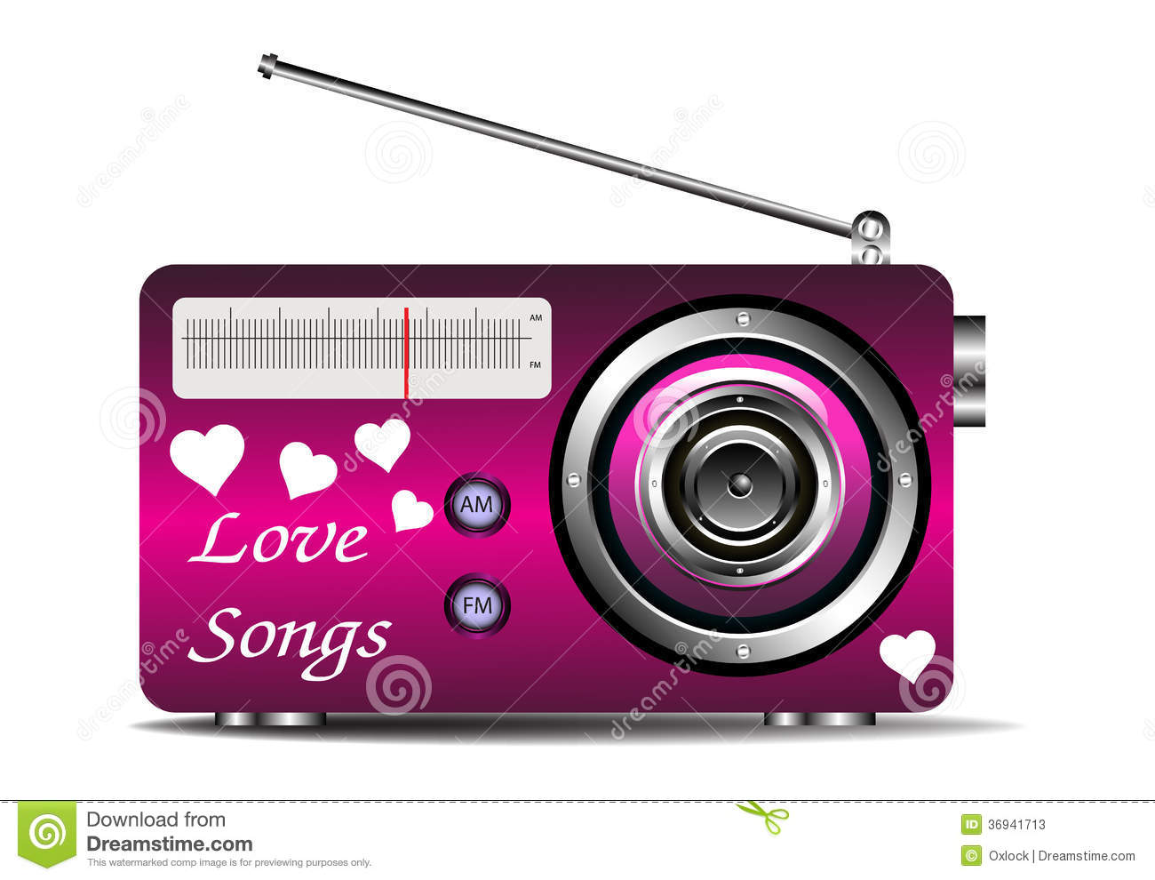 Love Songs On The Radio Stock Photos Image 36941713