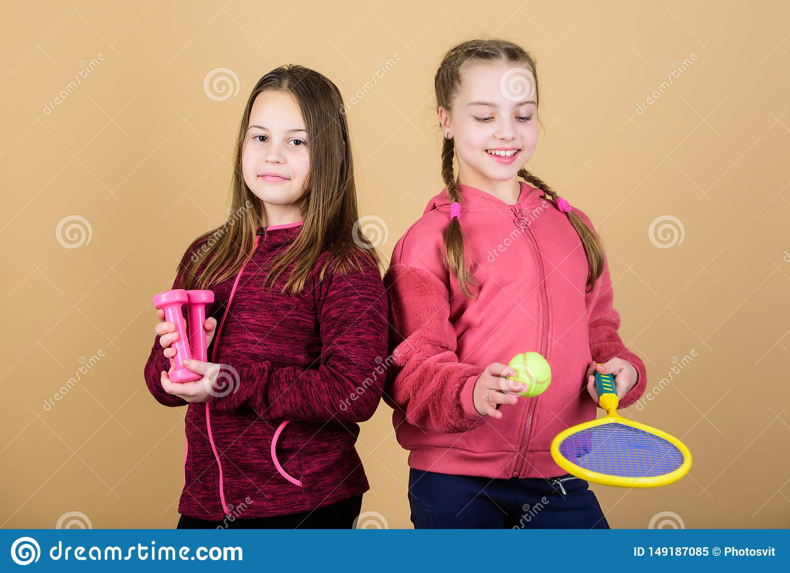 We love sport. Child might excel in completely different sport. Friends ready for training. Ways to help kids find sport
