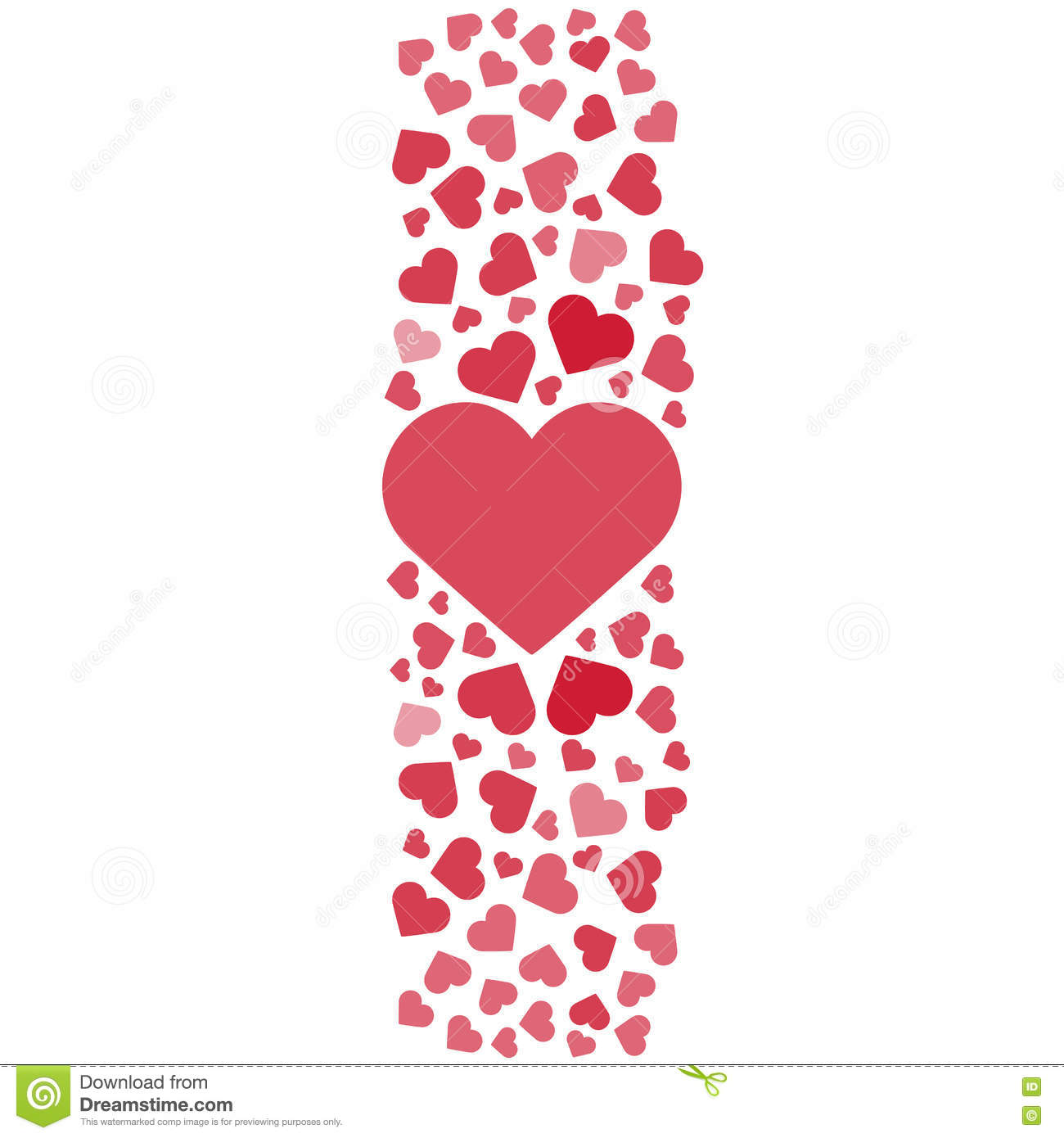 love story logo. vector illustration. love, hearts. valentines day