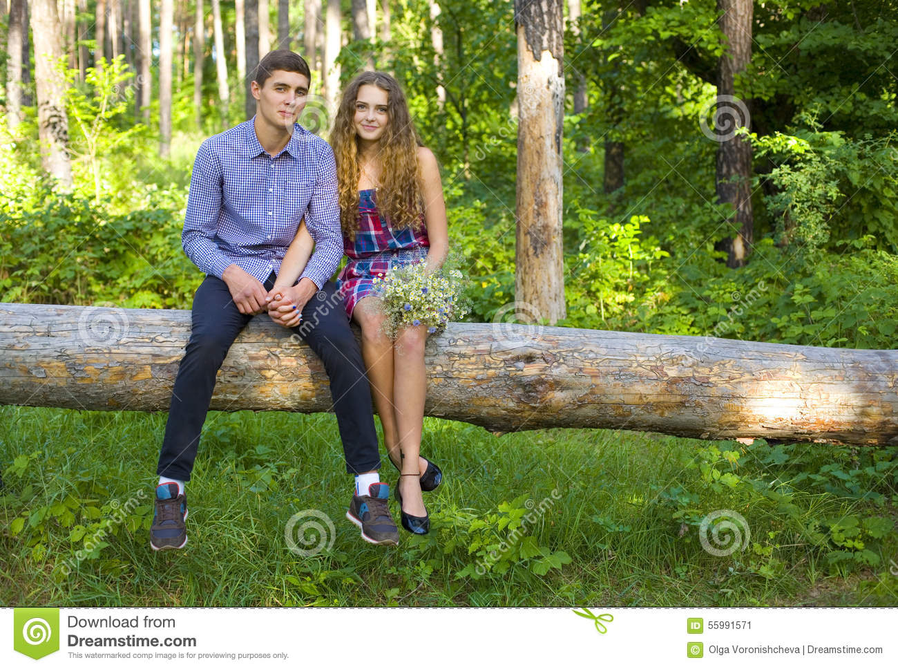 Boy and girl dating story