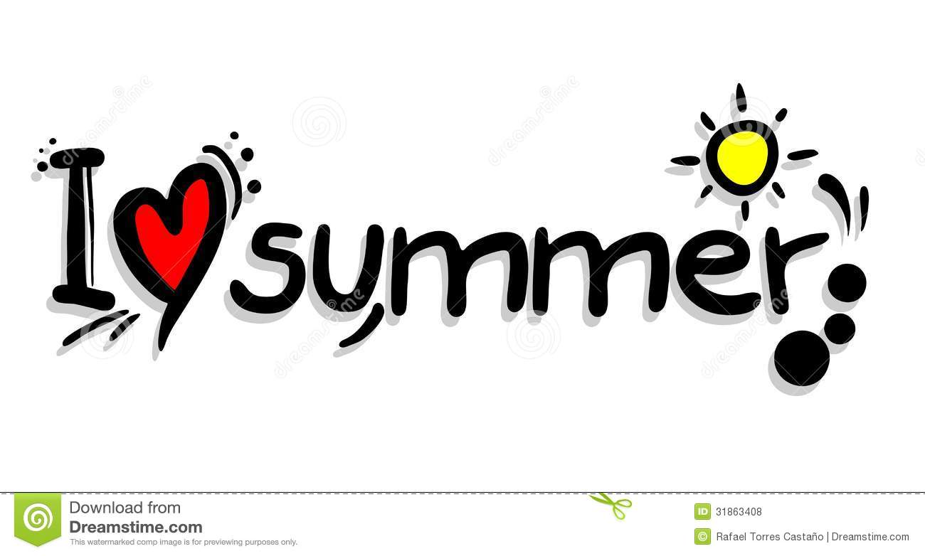Love summer royalty free stock photos image 31863408 for I love to design