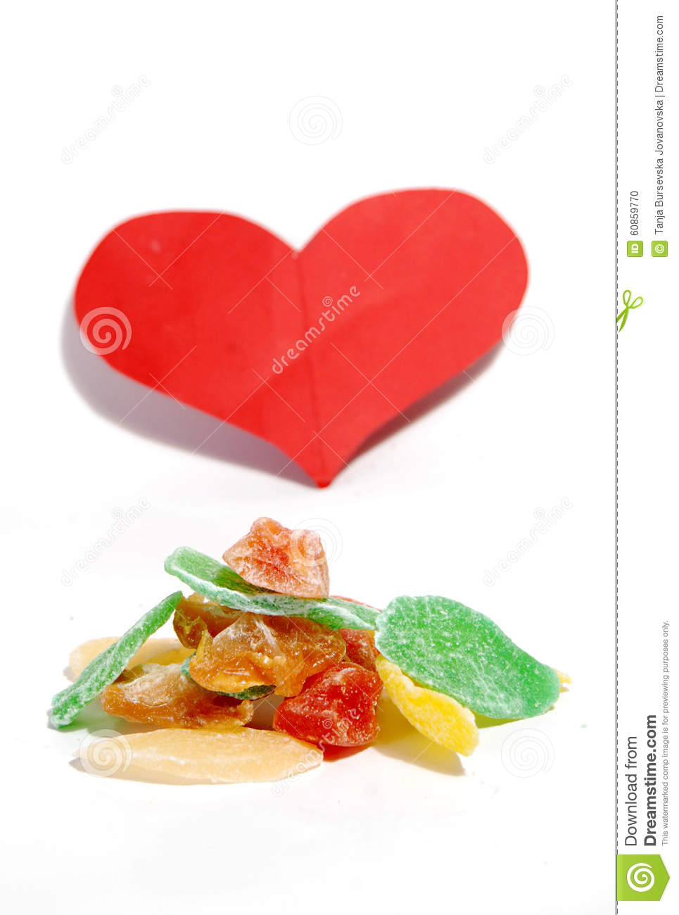 Love Sweet Candied Fruits