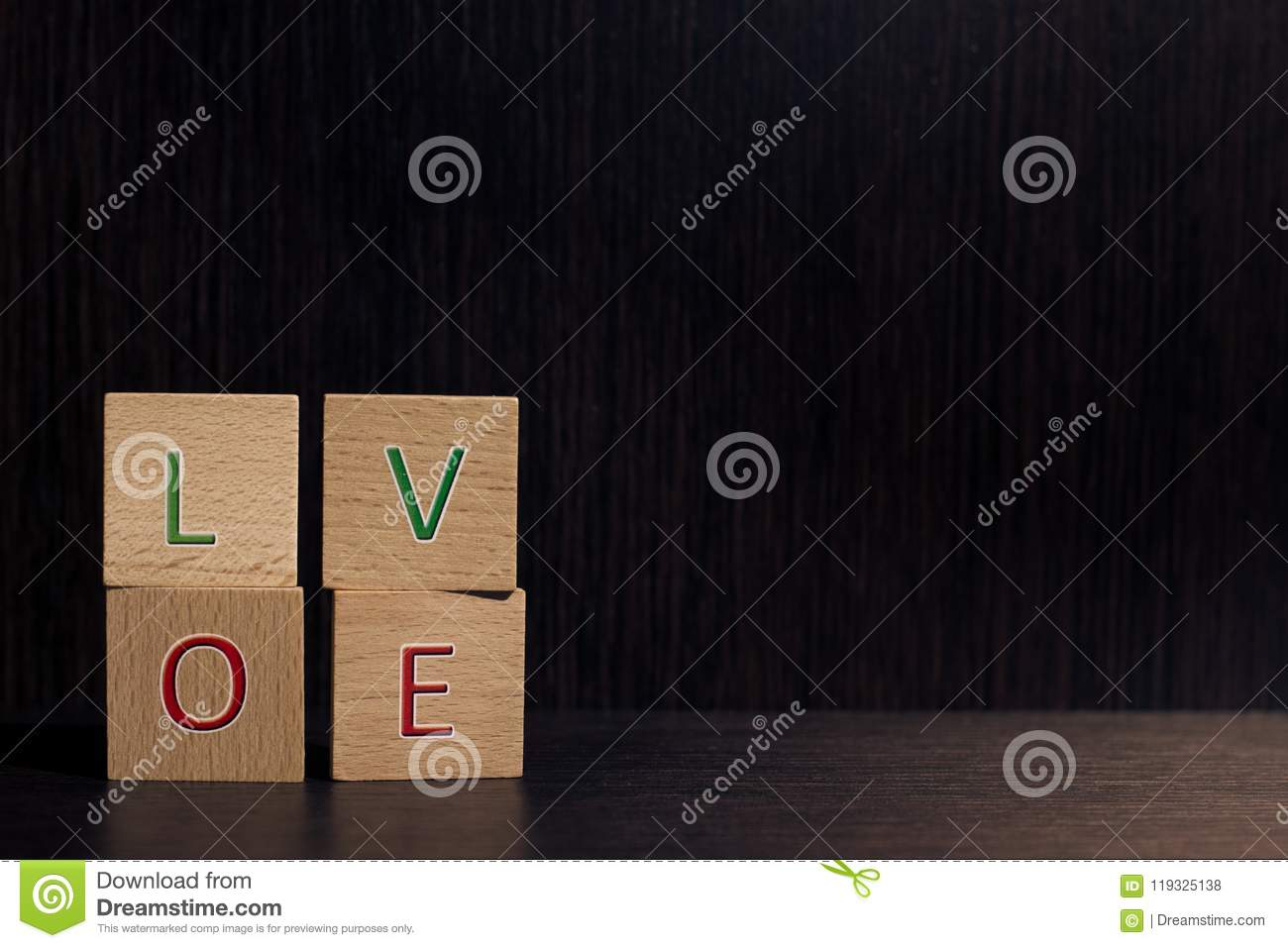 Love Is Love In Texture 2 Stock Photo Image Of Text 119325138