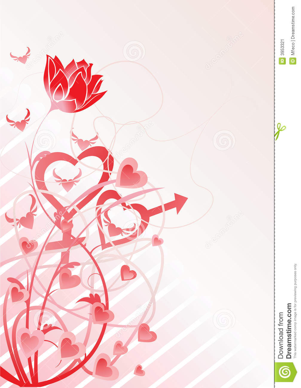 Love theme vector stock image image 3953321 for Love theme images