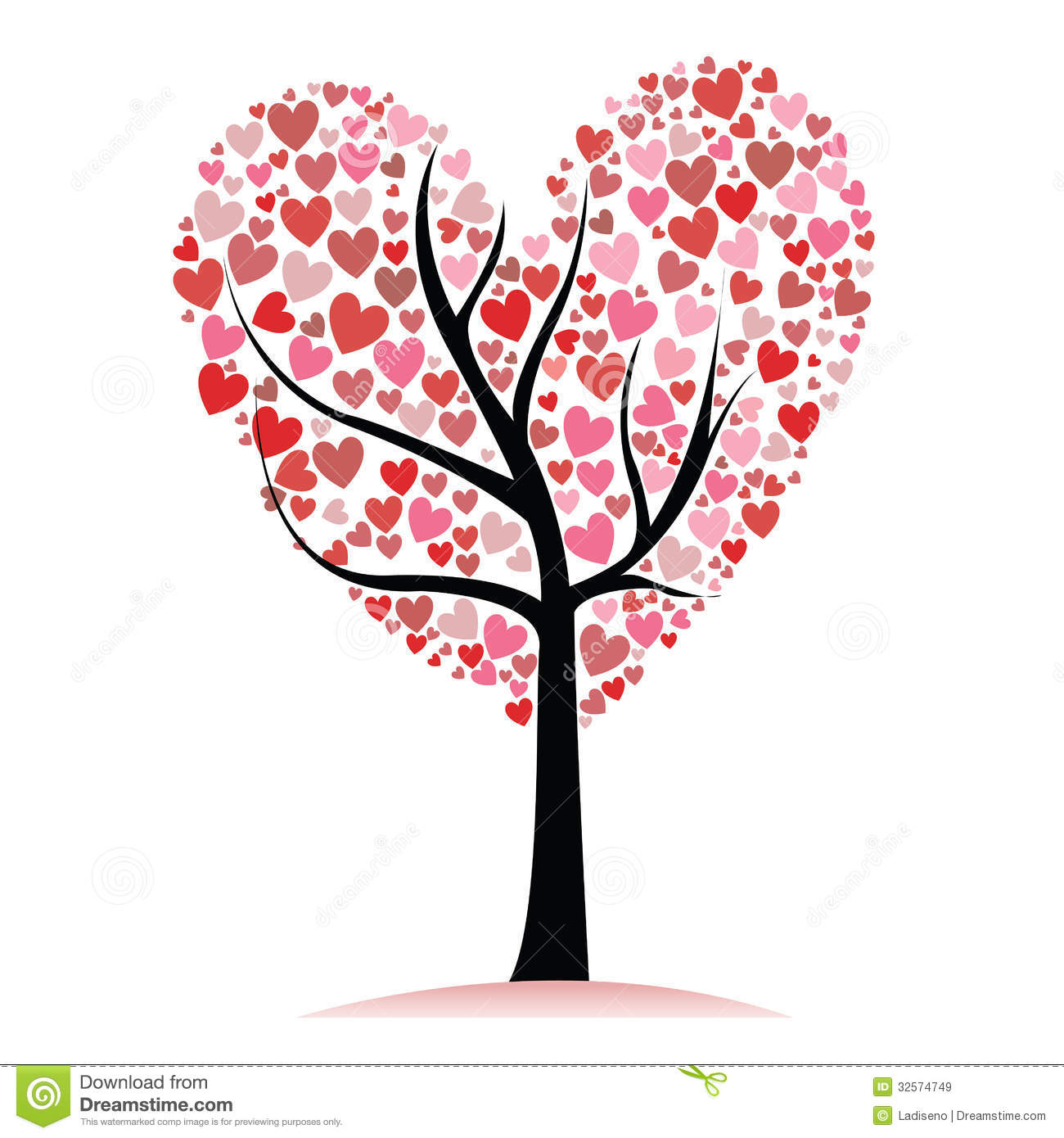 Love Tree Royalty Free Stock Images - Image: 32574749