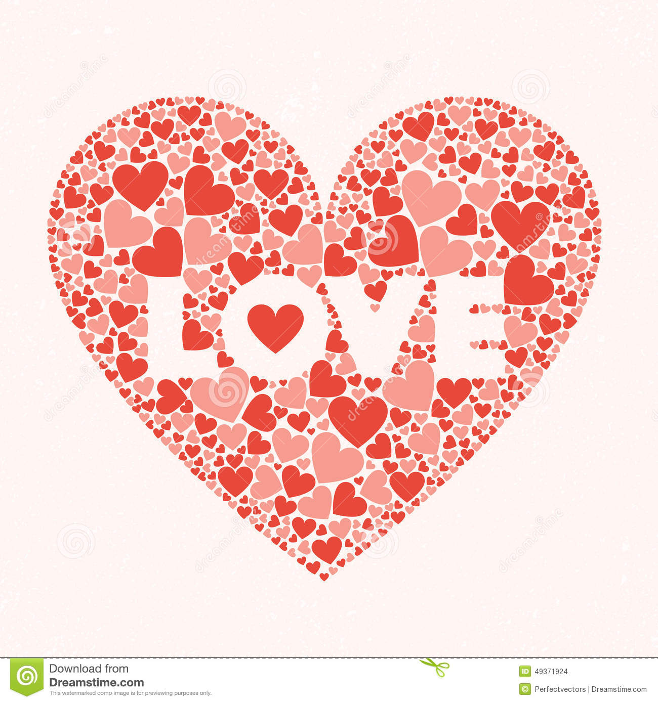 Love valentines day card stock vector image 49371924 for Valentines day card design
