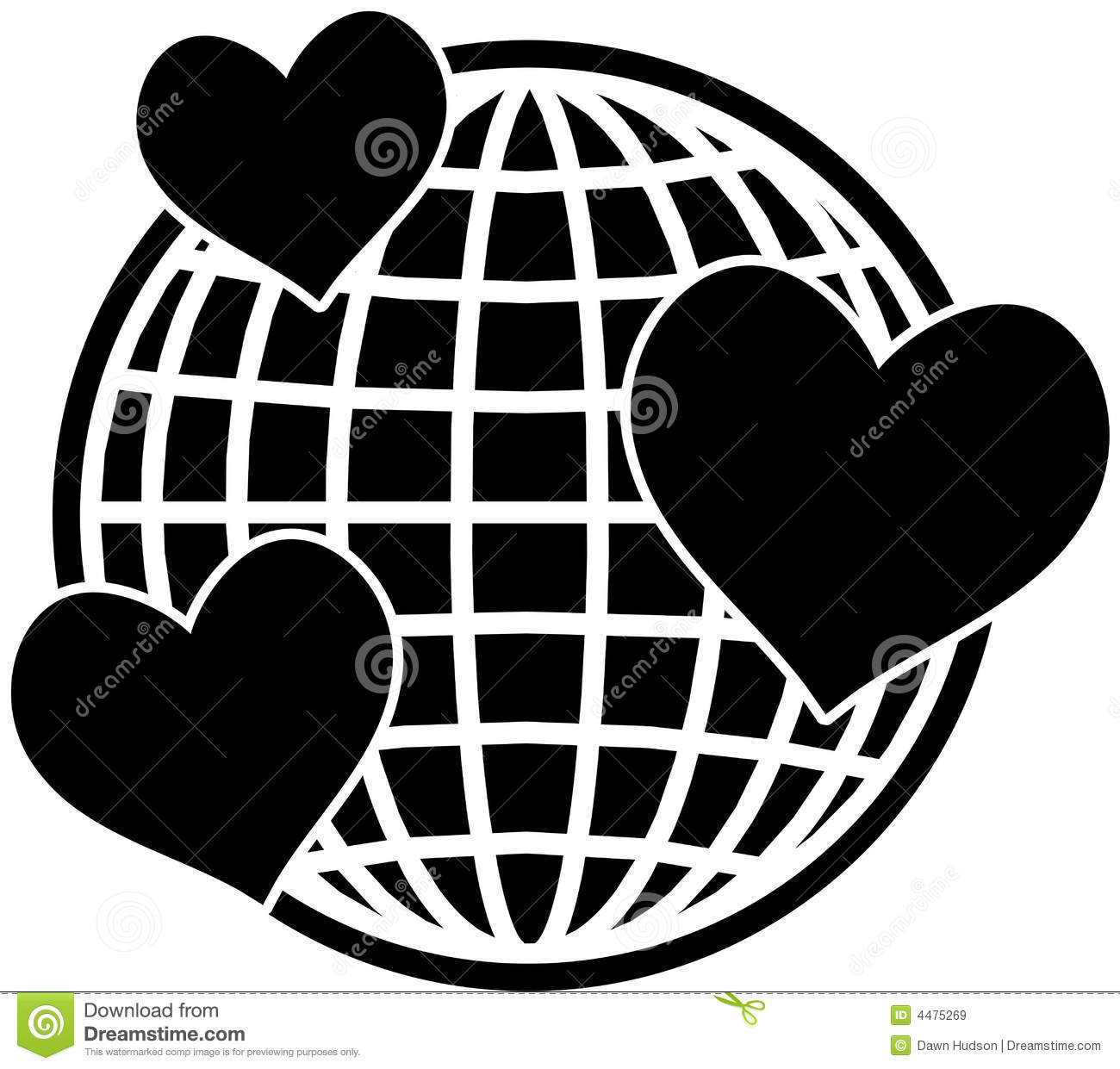 Love World Stock Illustration Illustration Of Icon Romantic 4475269
