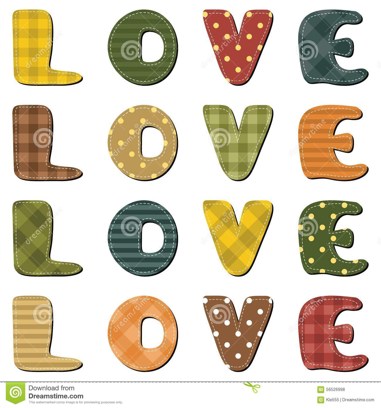 How to scrapbook letters - Love World Wirh Scrapbook Letters