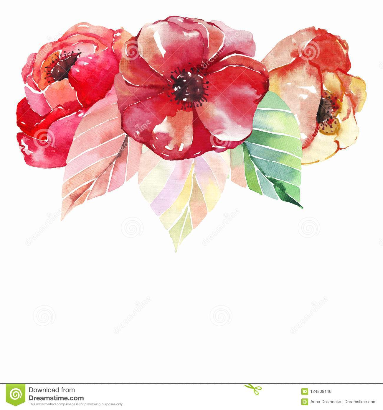 Lovely Beautiful Bright Autumn Wonderful Colorful Herbal Floral Red