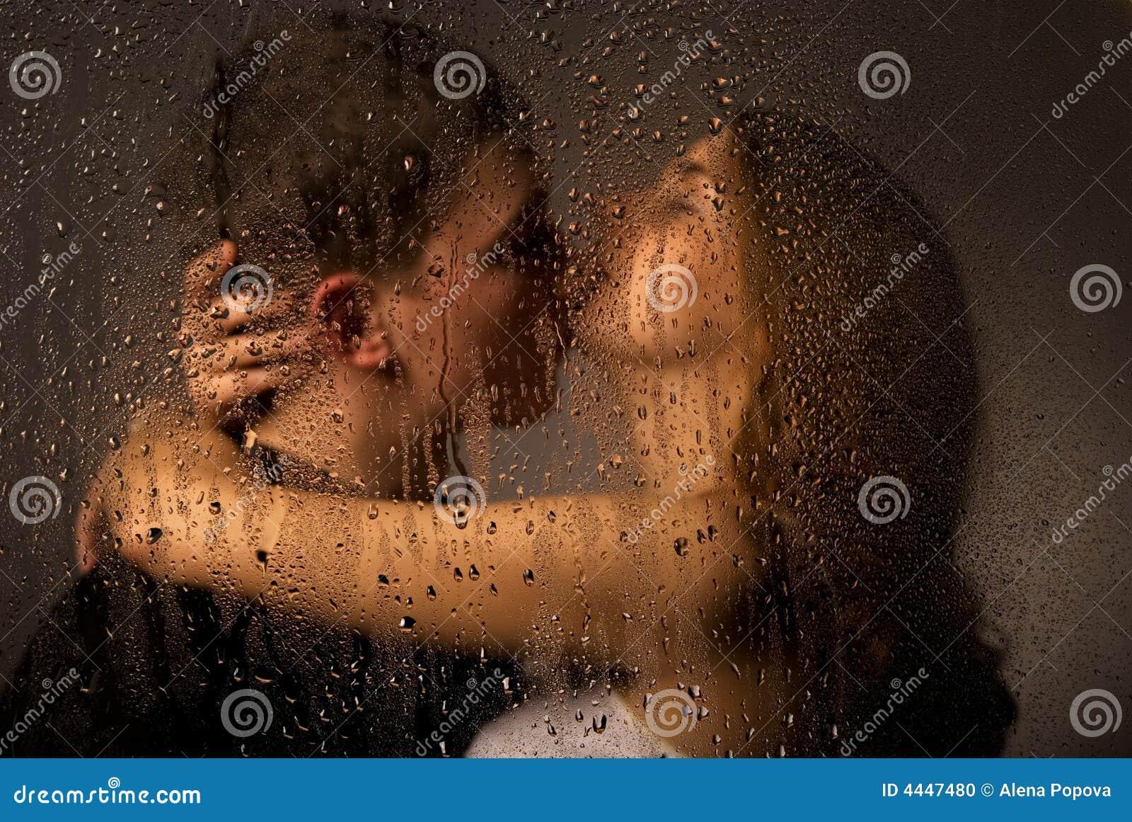 Lovely Kiss Stock Photo Image 4447480