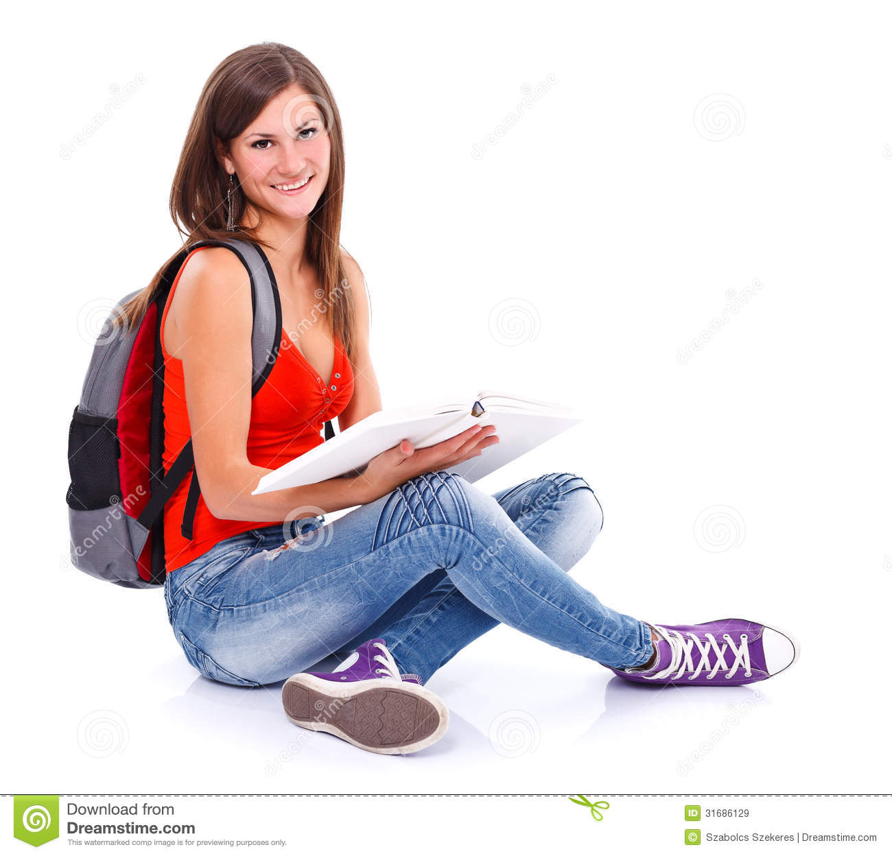 Lovely Student Girl Royalty Free Stock Images - Image ...
