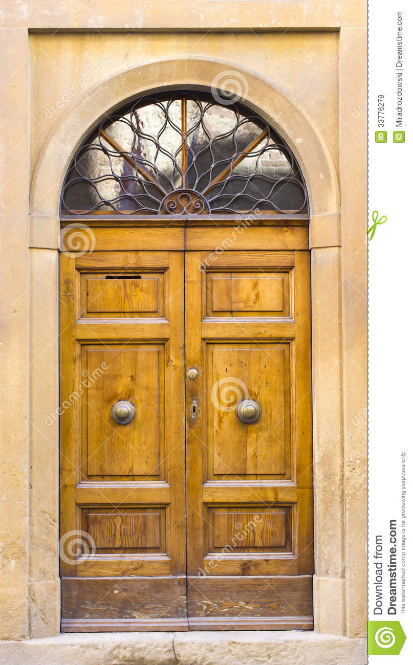 Lovely Tuscan Doors Stock Photo Image Of Architecture