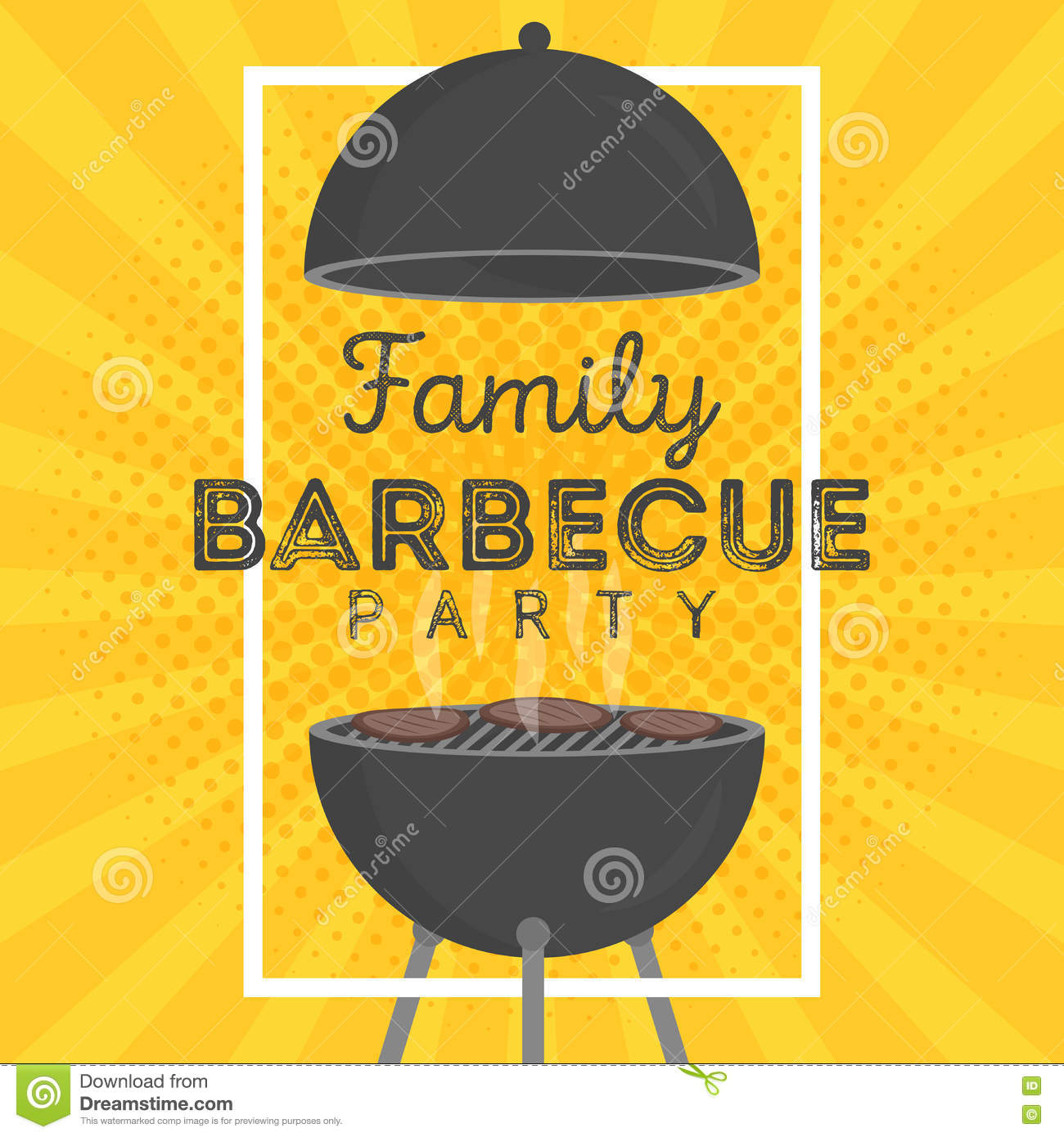 barbecue poster