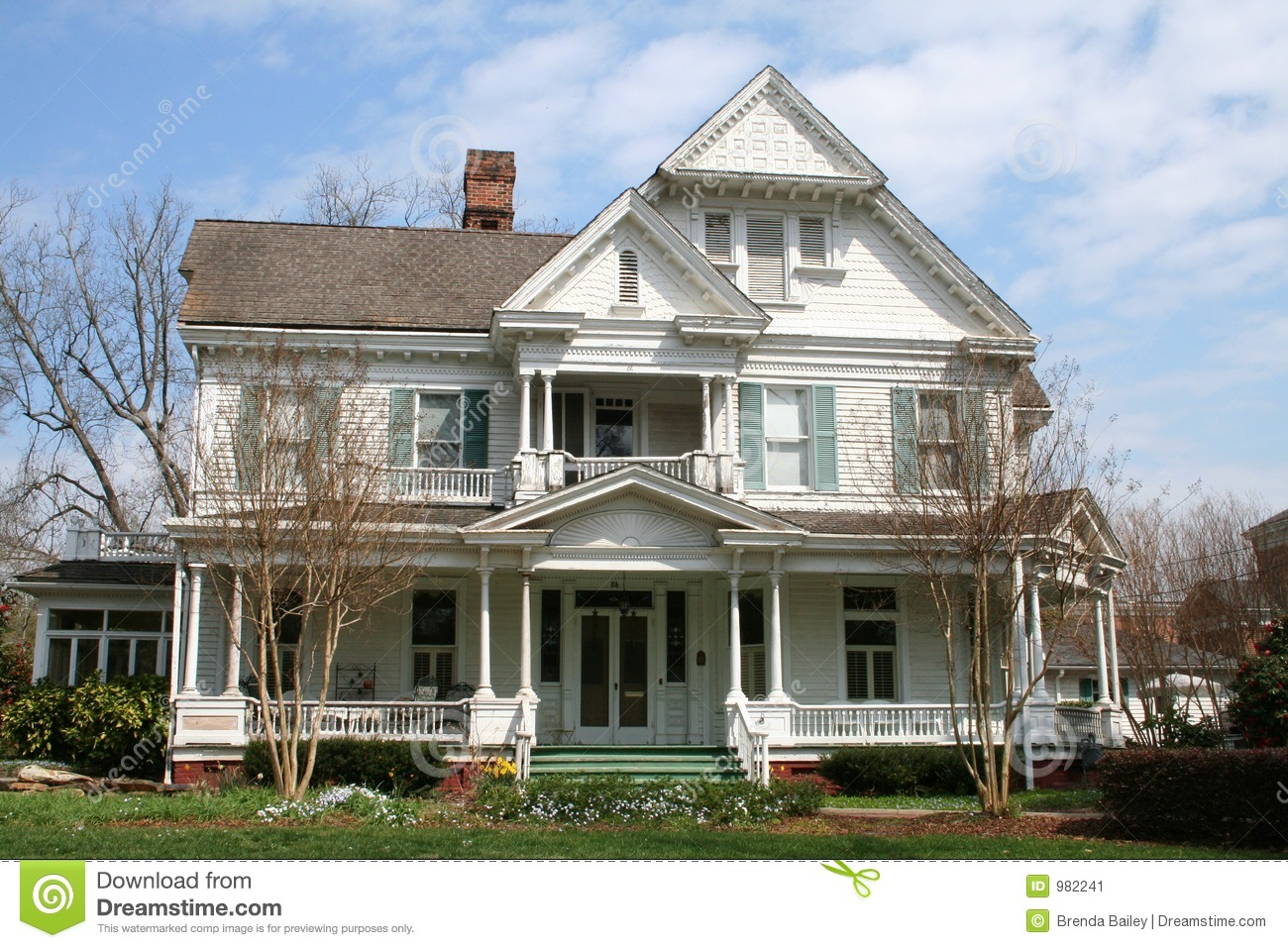 Lovely Victorian House Stock Image Image 982241