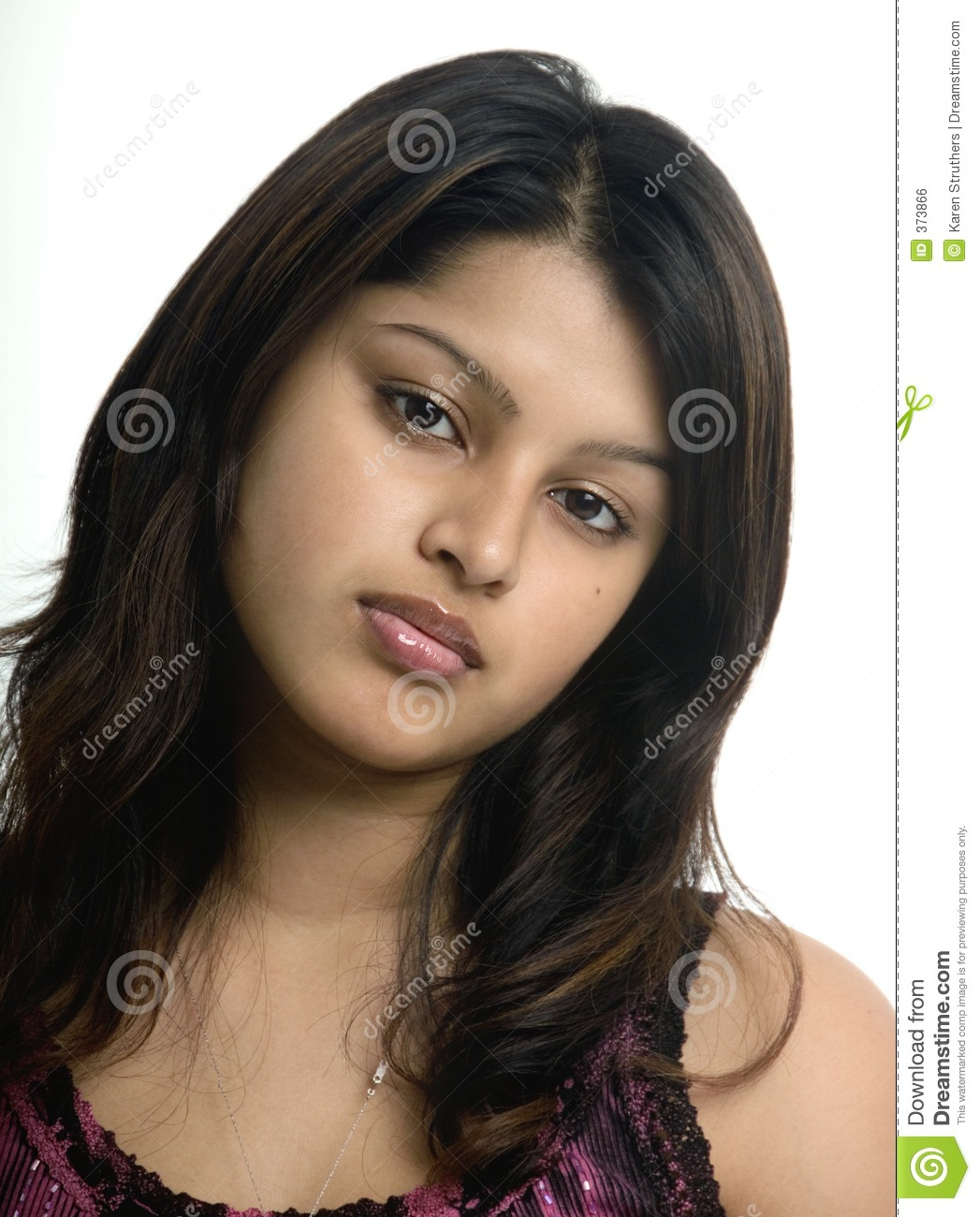 Lovely young woman