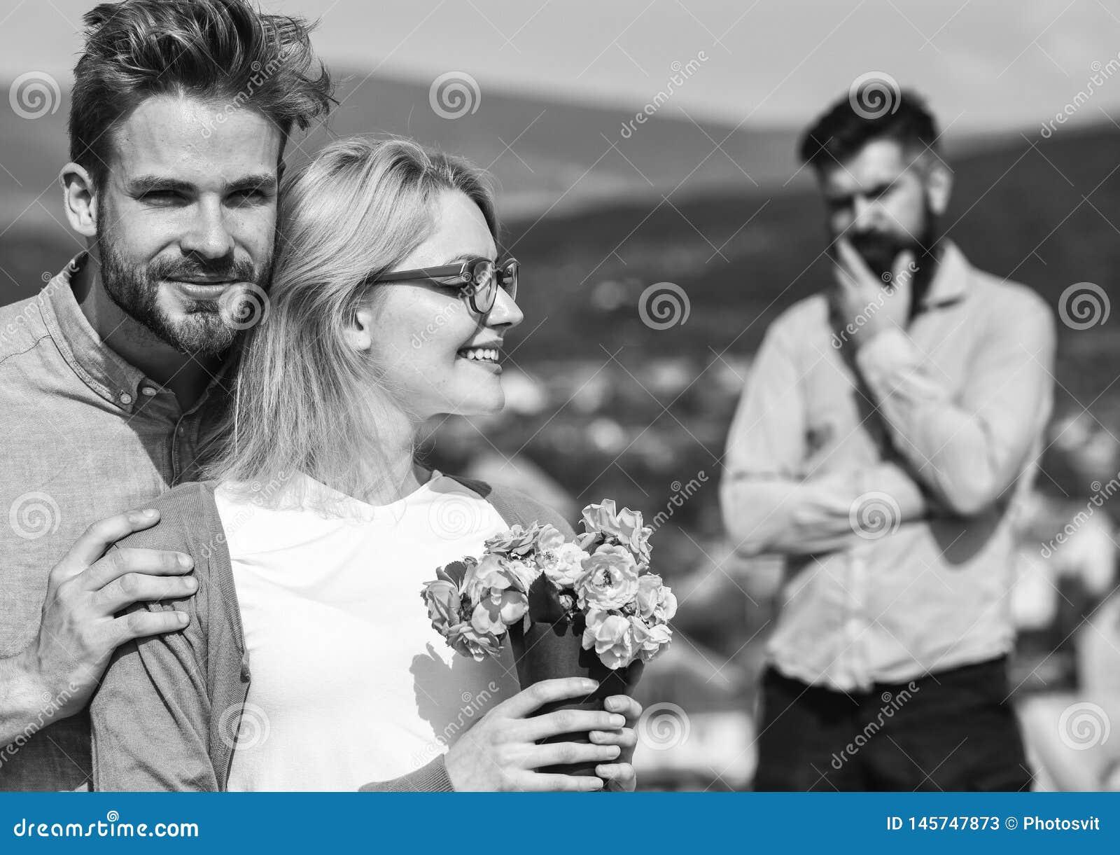 Lovers Hugs Outdoor Flirt Romance Relations  Couple Romantic