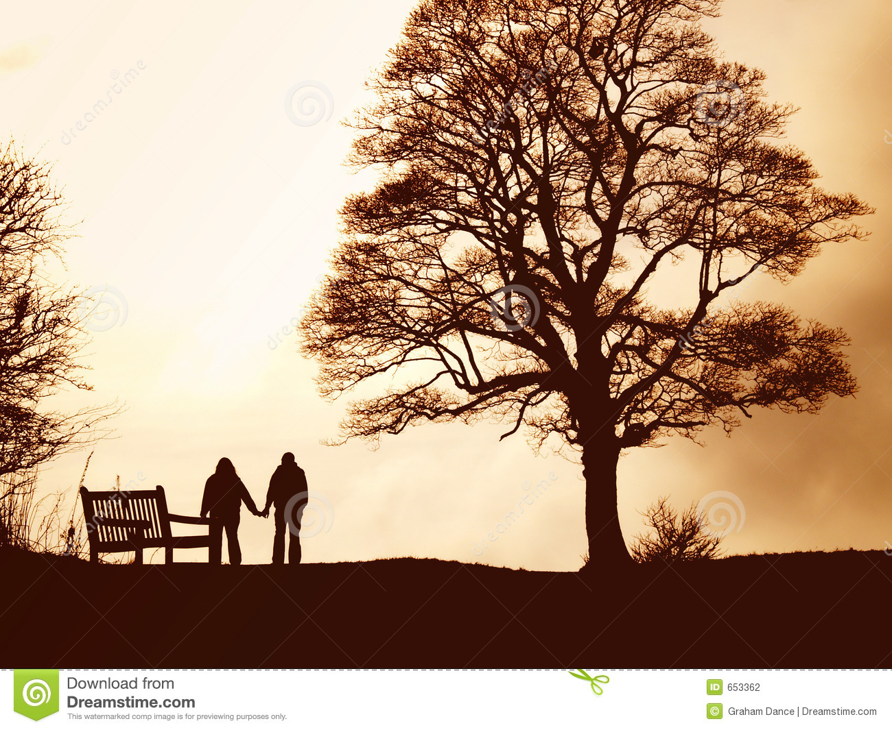 Lovers Walk Stock Photography Image 653362
