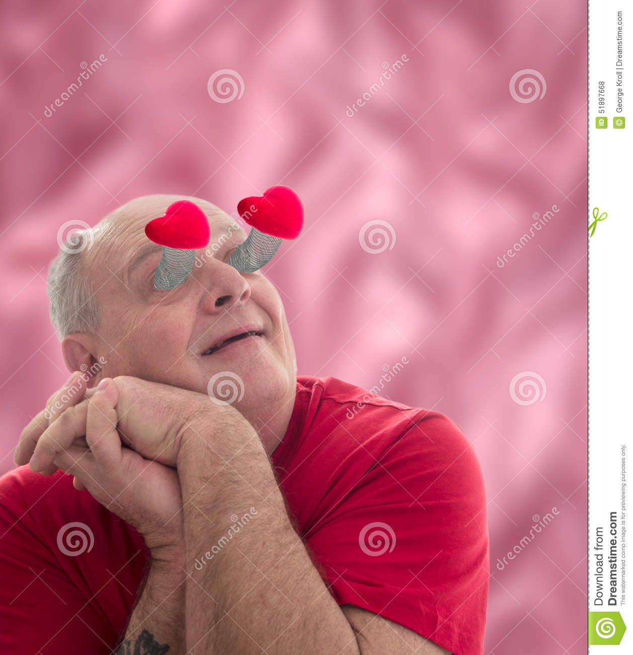 Lovestruck Stock Photo Image Of Struck Humourous Emotion 51897668