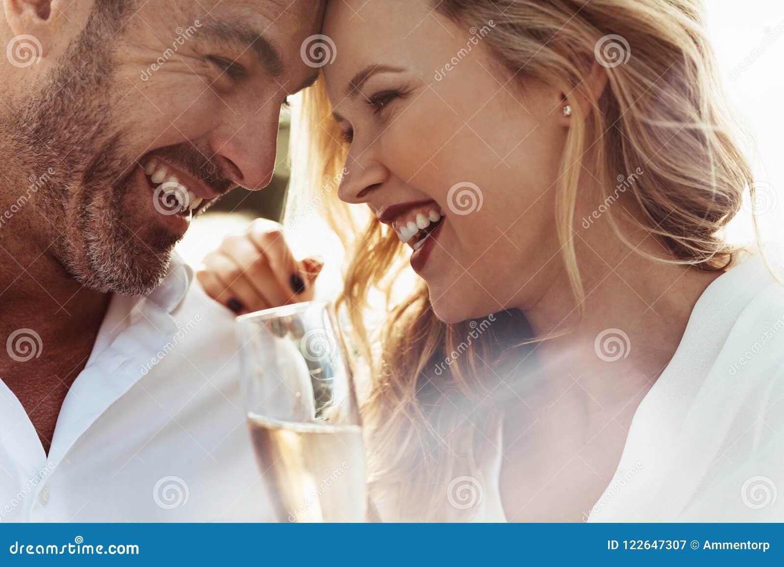 Loving Couple Enjoying Each Others Company