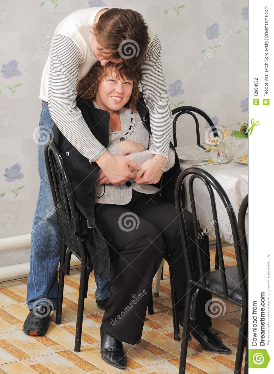 Loving Couple A Family Stock Photography Image 12884962