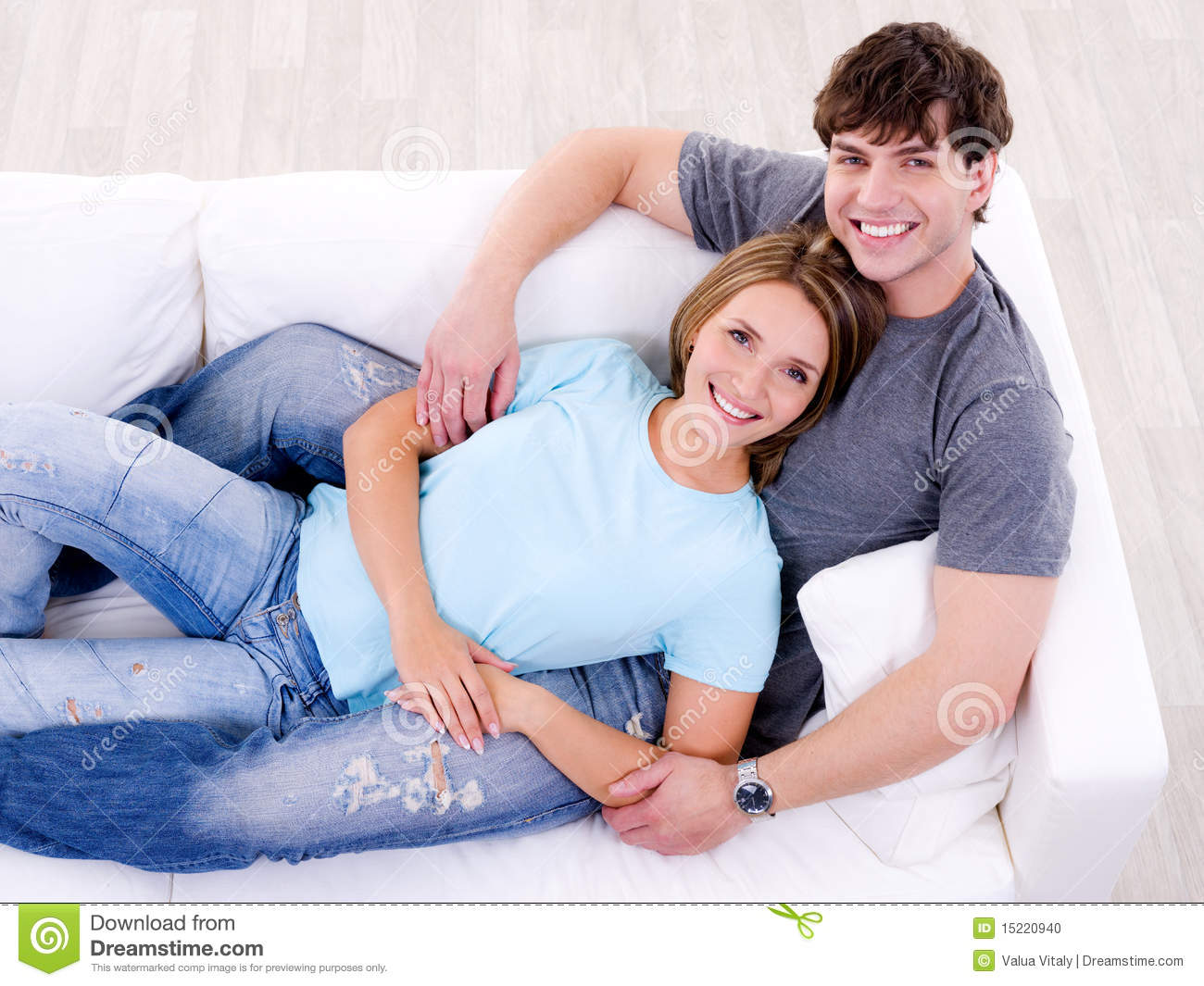 Couple Sex On Couch
