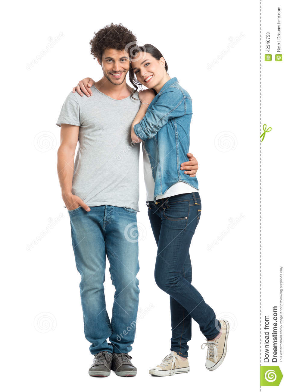 Loving Couple Standing