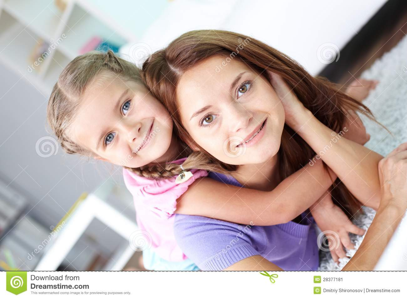loving daughter stock image image of lifestyle casual 28377181