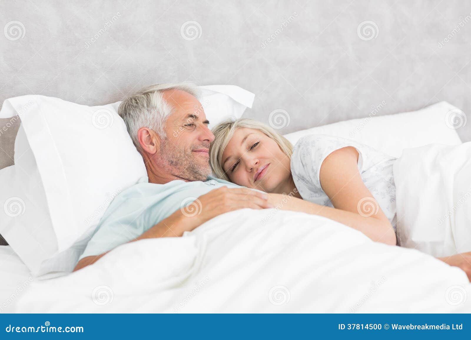 Mature women loving their man