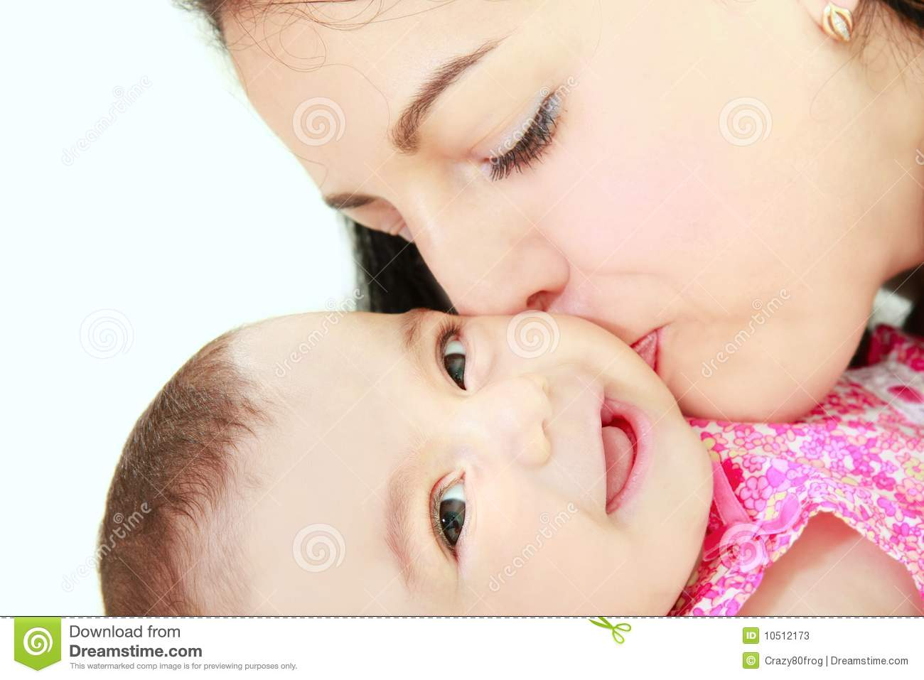 Loving Mother And Baby Daughter Stock Image - Image of ...
