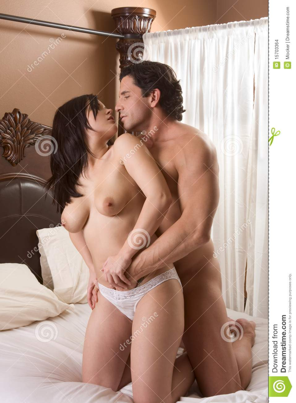 Indian young lovers having sex and moaning