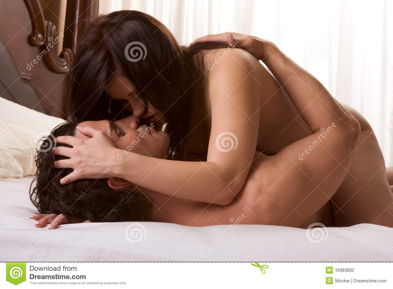 nude and naked couple romance