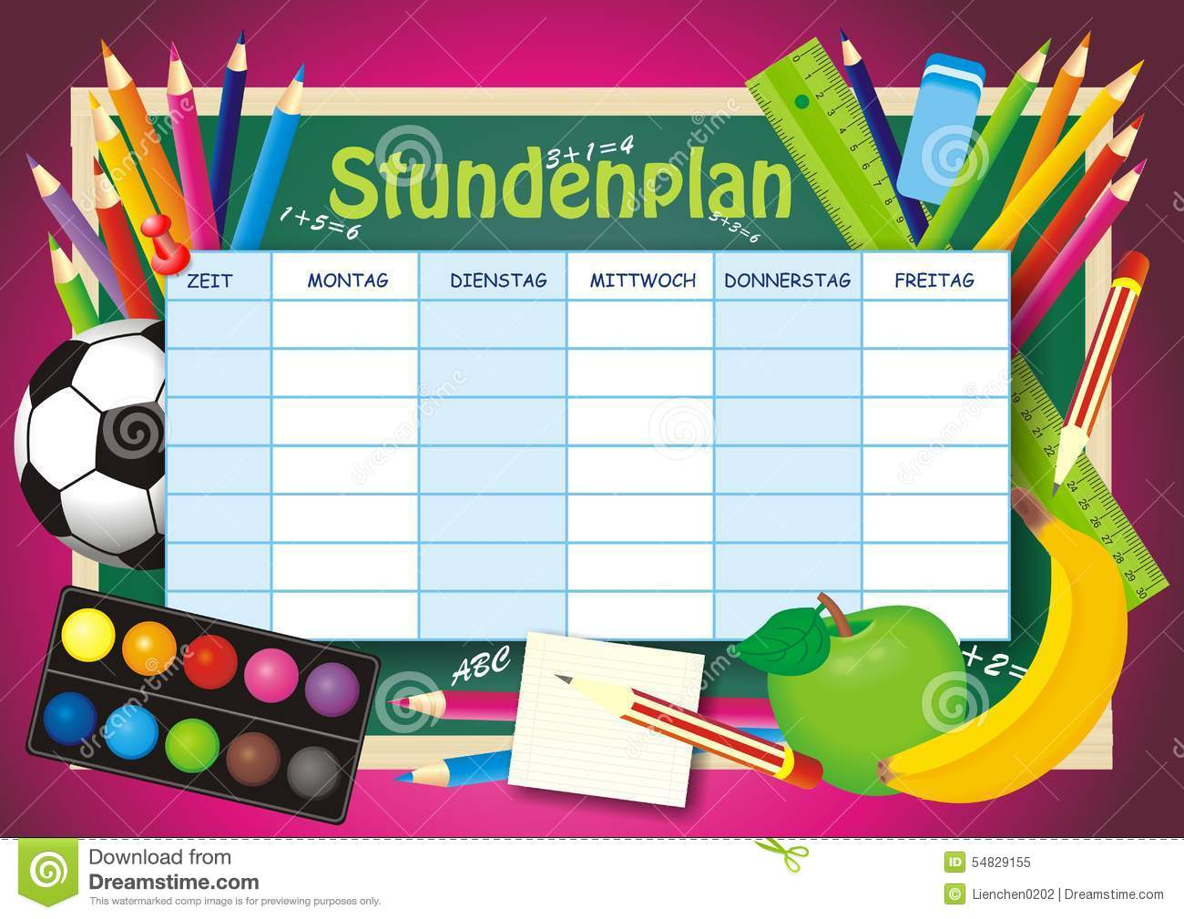 School Timetable Template Background Photos Images – School Time Table Designs