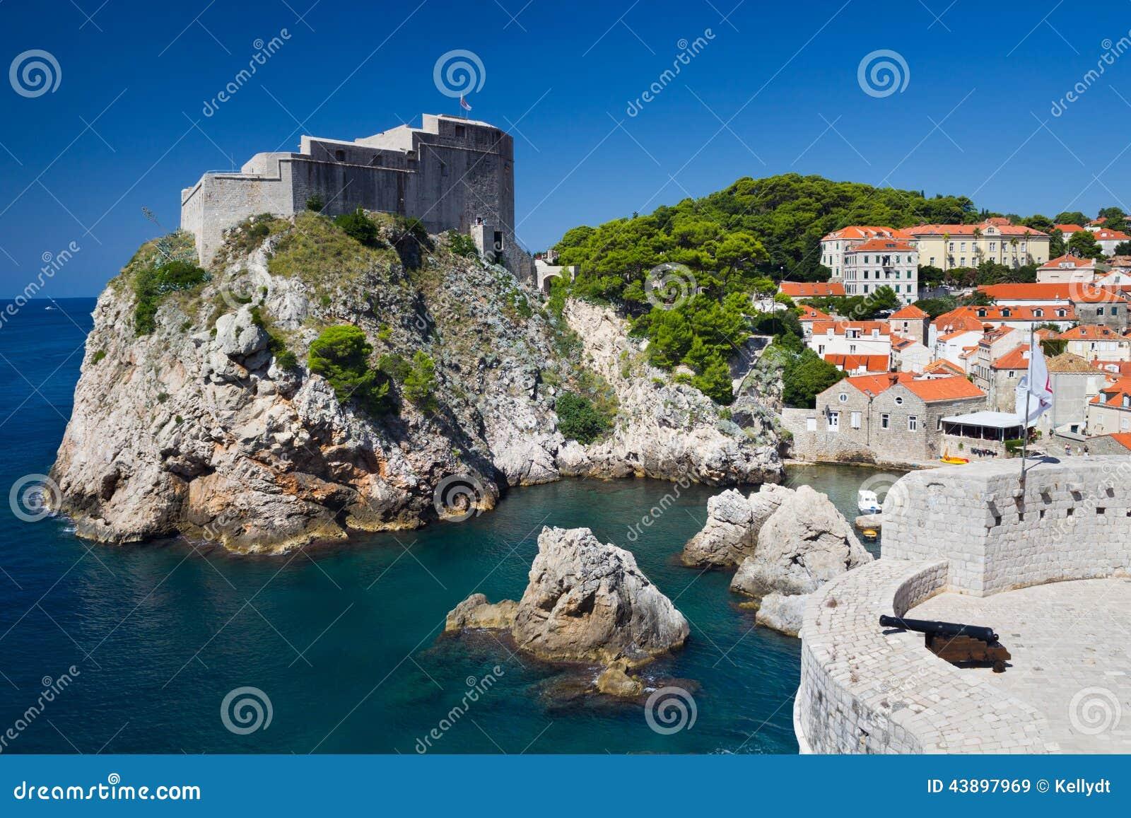 Lovrijenac-Festung in Dubrovnik