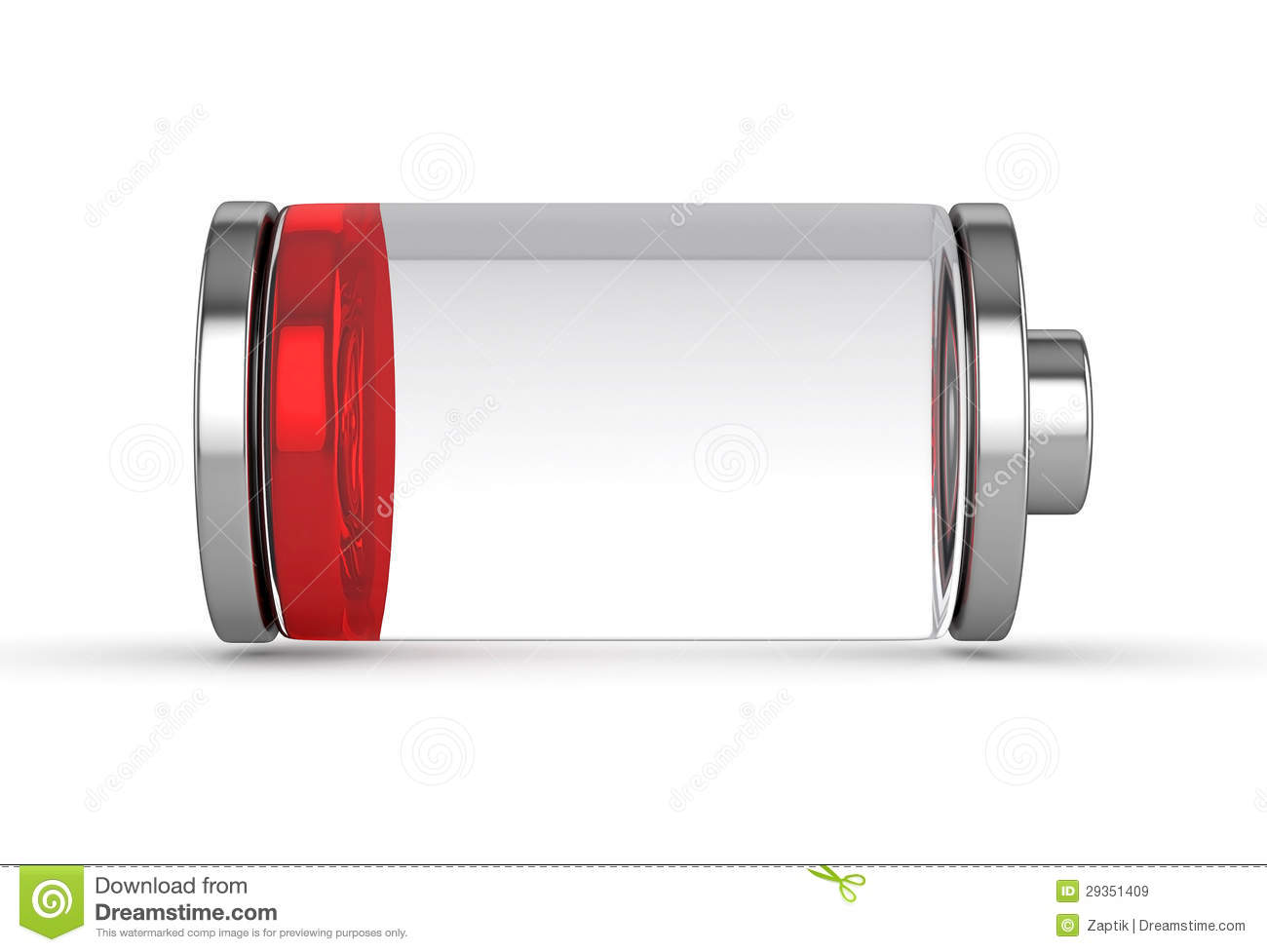 Low Battery Royalty Free Stock Images - Image: 29351409