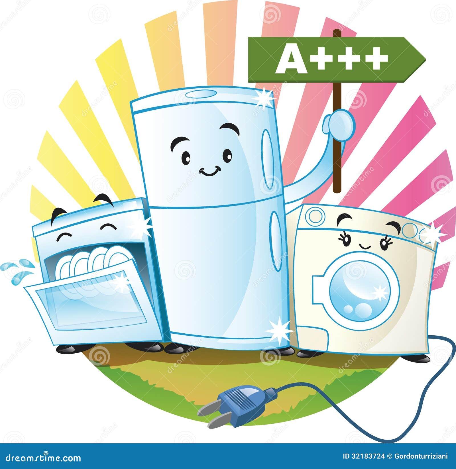 Low-consumption Appliances Stock Images