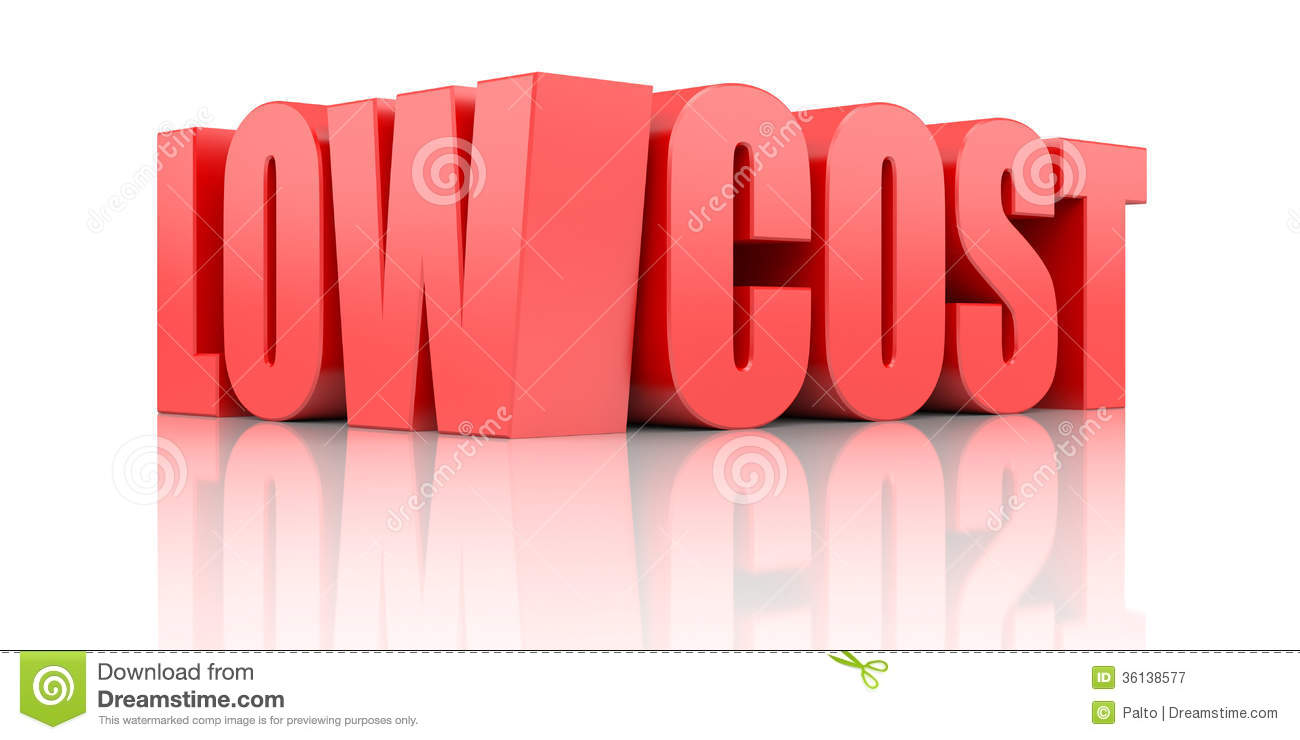 business concept separated on white mr no pr no 2 202 1: dreamstime.com/royalty-free-stock-photography-low-cost-business...