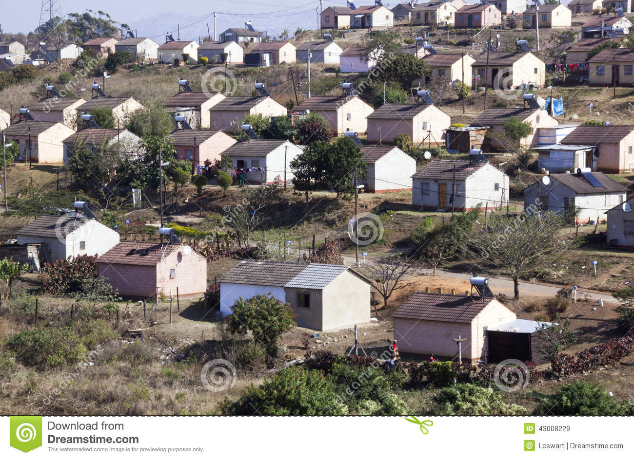 Low Cost Township Houses in Durban South Africa