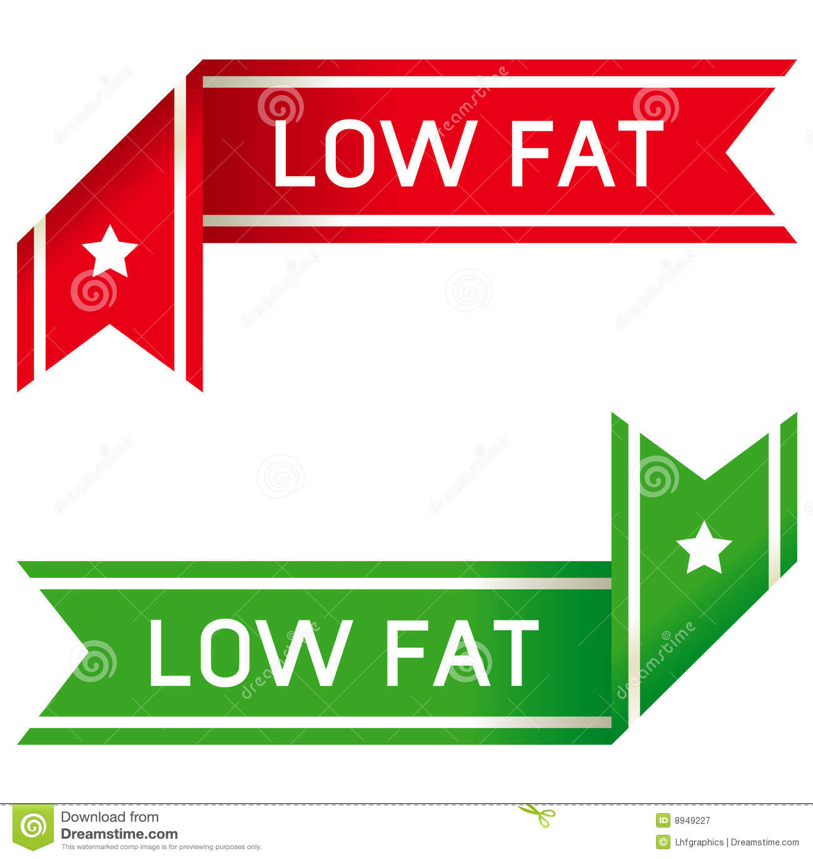 Low fat food label definition