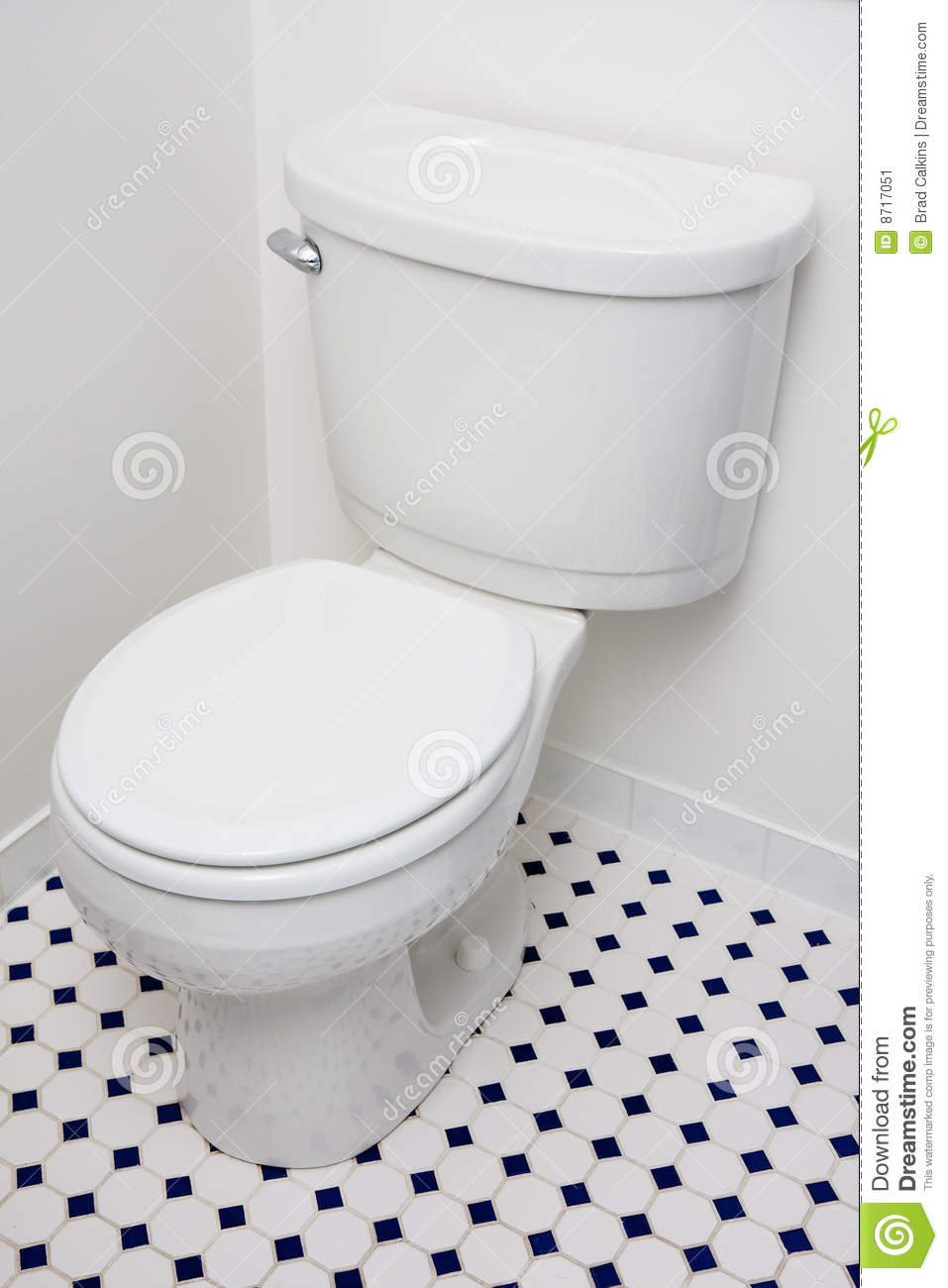 Low Flow Toilet Stock Image Image 8717051