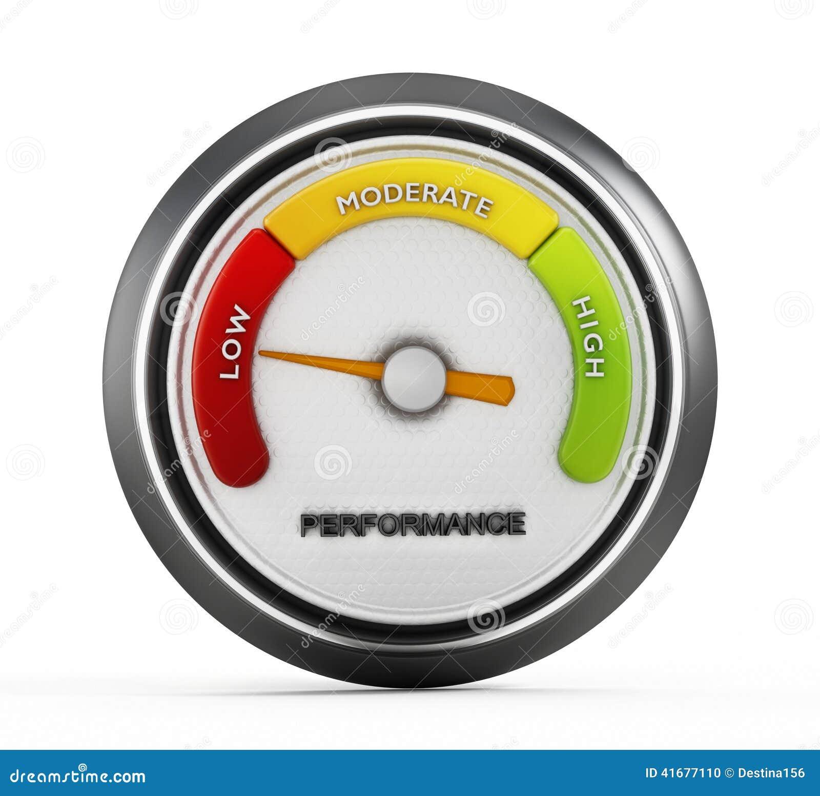 Low Performance Stock Photo Image 41677110