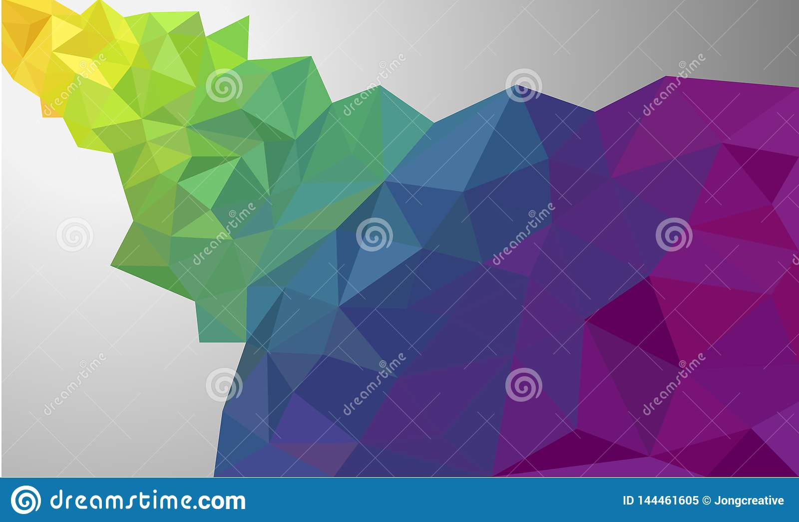 Low Poly Faceted Triangular Polygon Wallpaper Background