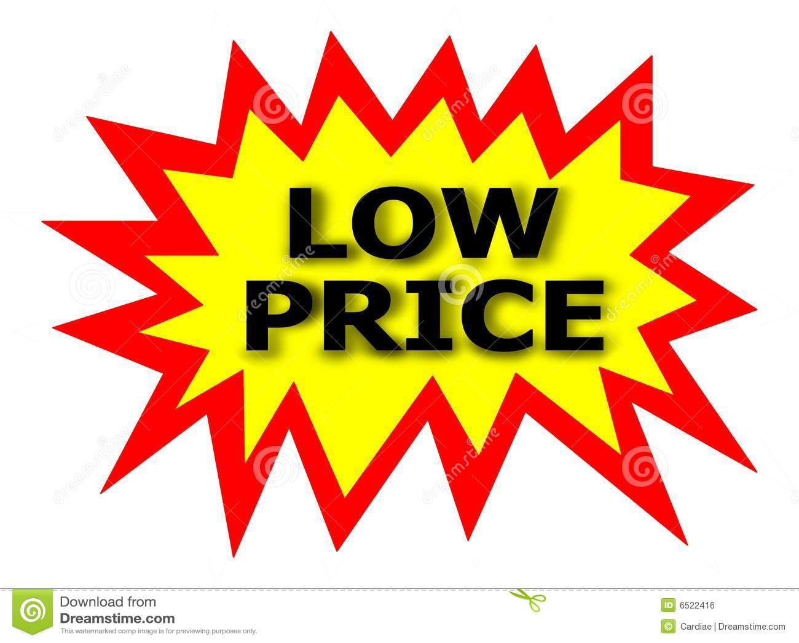 LOW PRICE Tag Royalty Free Stock Image - Image: 6522416