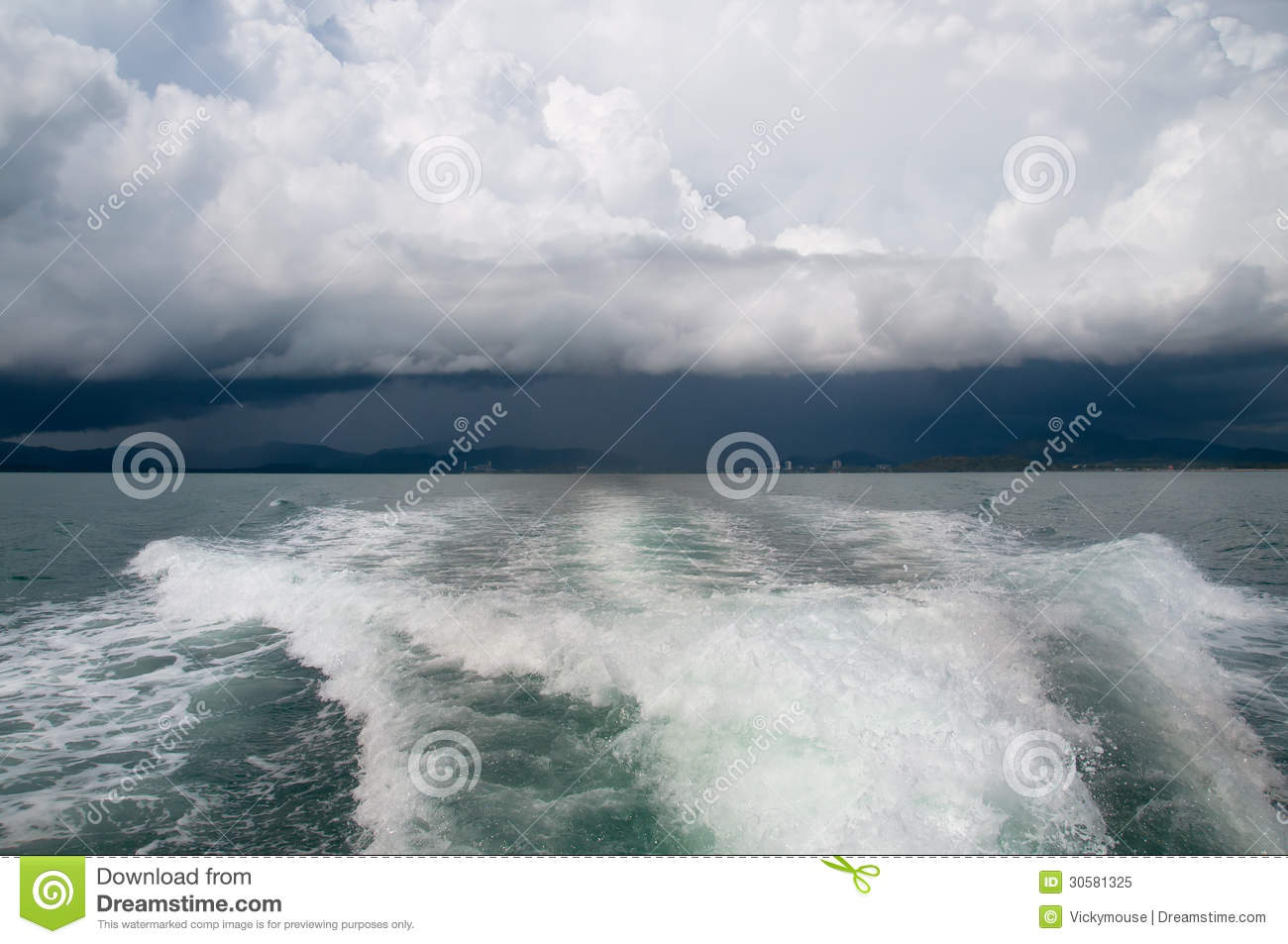 ... Storm Clouds Over The Sea Royalty Free Stock Photo - Image: 30581325