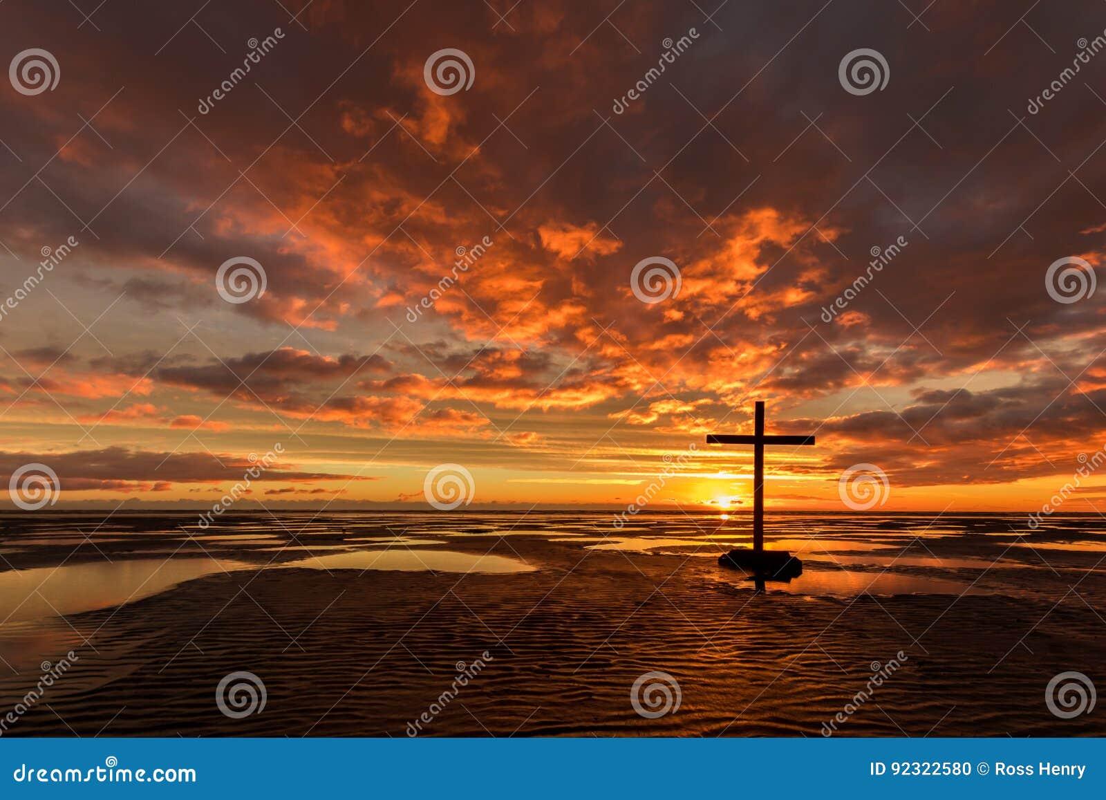 Low Tide Salvation Black Cross