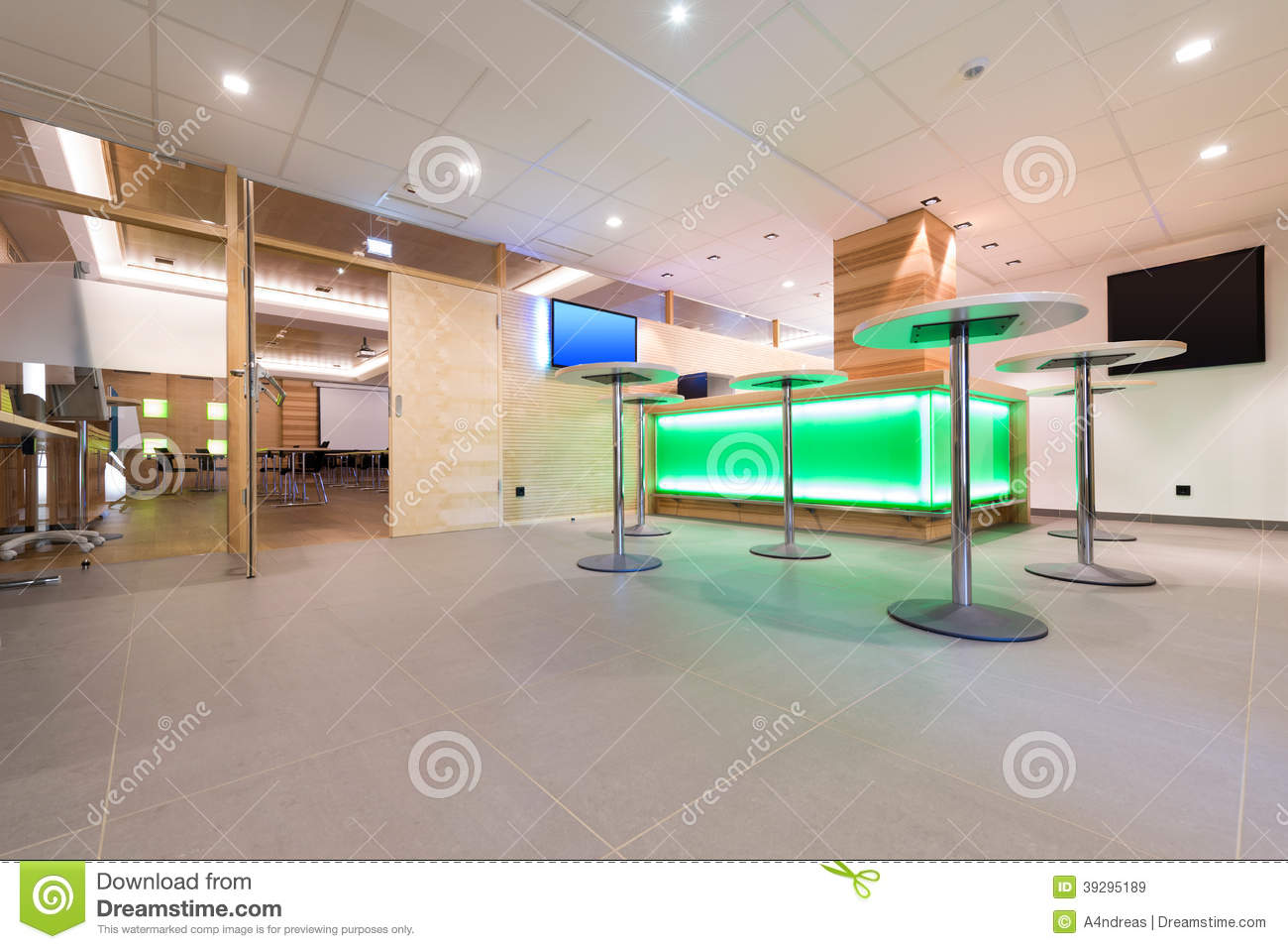 Low view to wooden foyer stock photo image 39295189 for Foyer youth housing