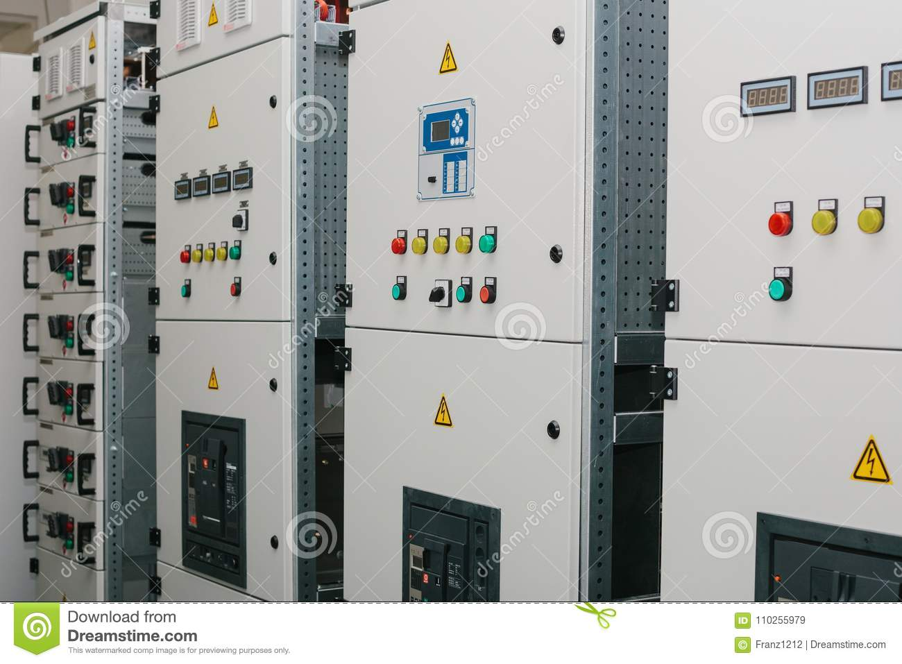 Download Manufacture Of Low-voltage Cabinets. Modern Smart Technologies In  The Electric Power Industry