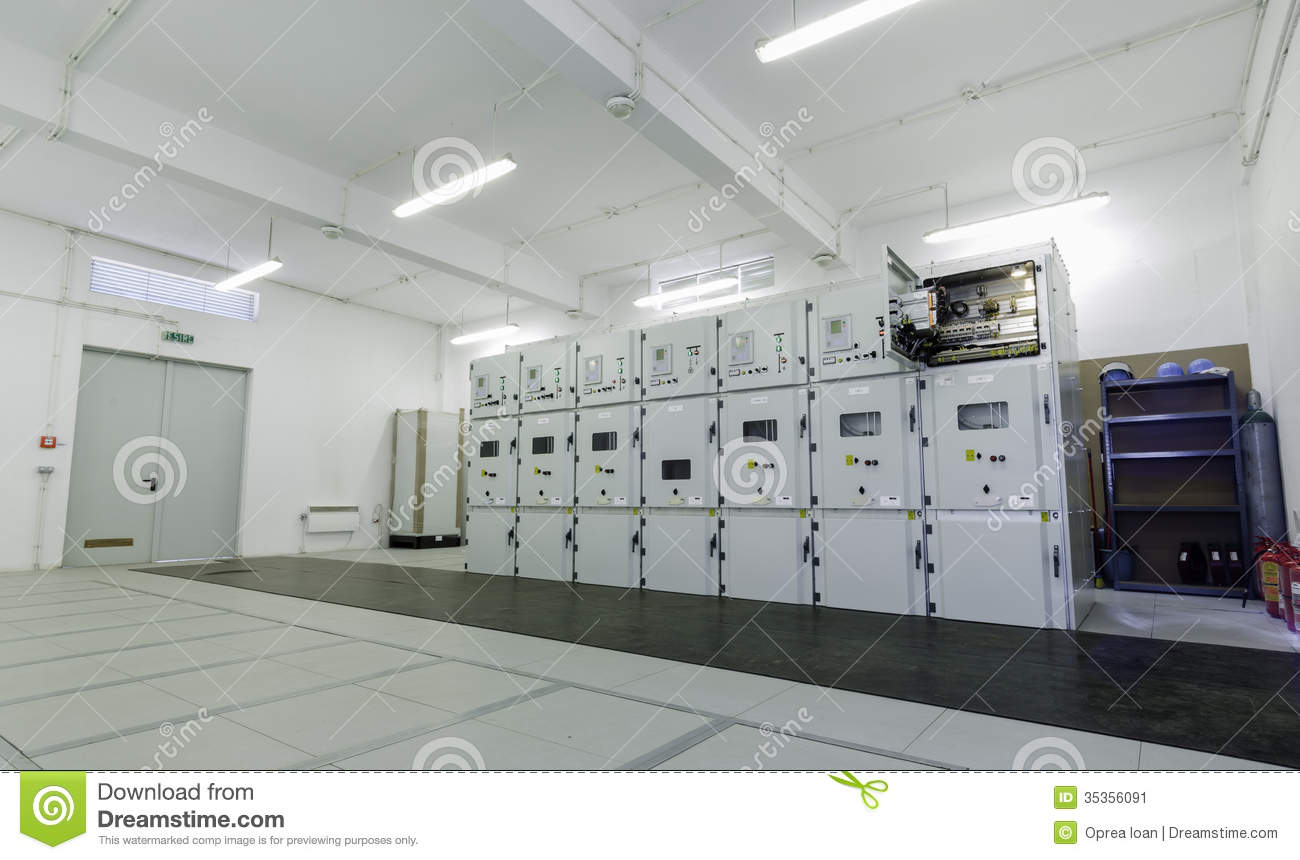 Low Voltage Distribution Cells Stock Image - Image: 35356091